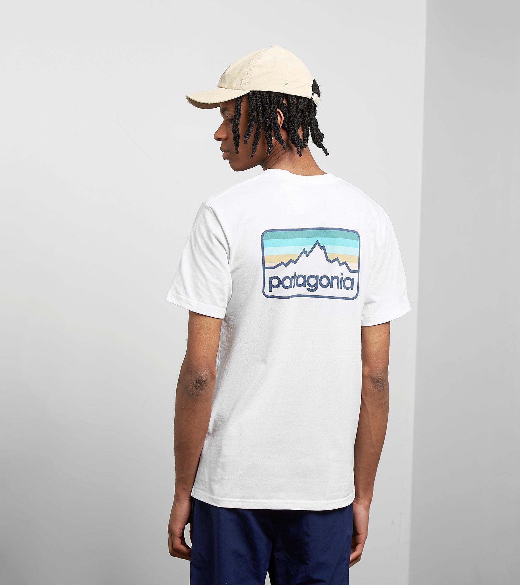 Patagonia T-Shirt Line Logo Badge Responsibili