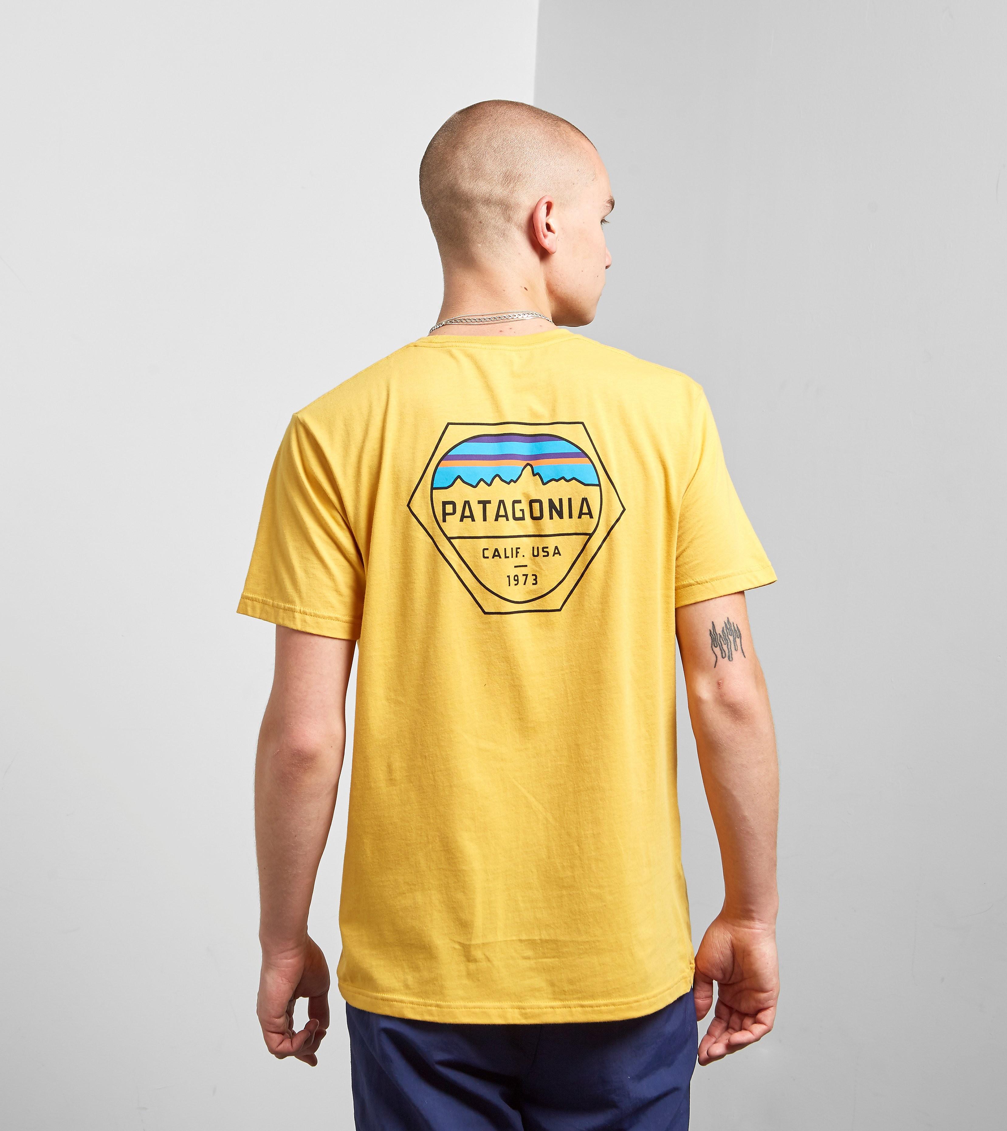Patagonia T-Shirt Fitz Roy Hex