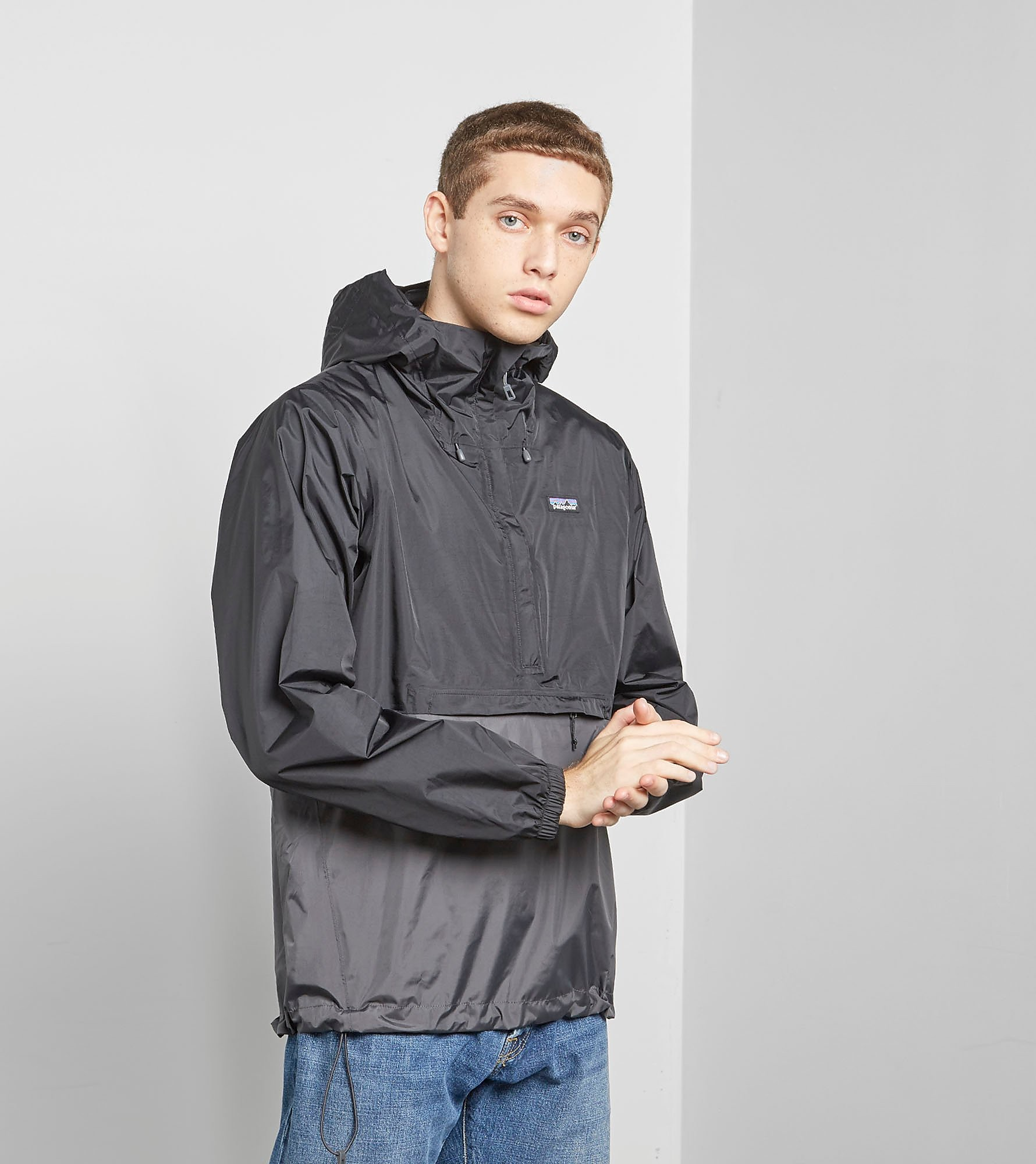 Patagonia Half-Zip Torrentshell Hooded Jacket