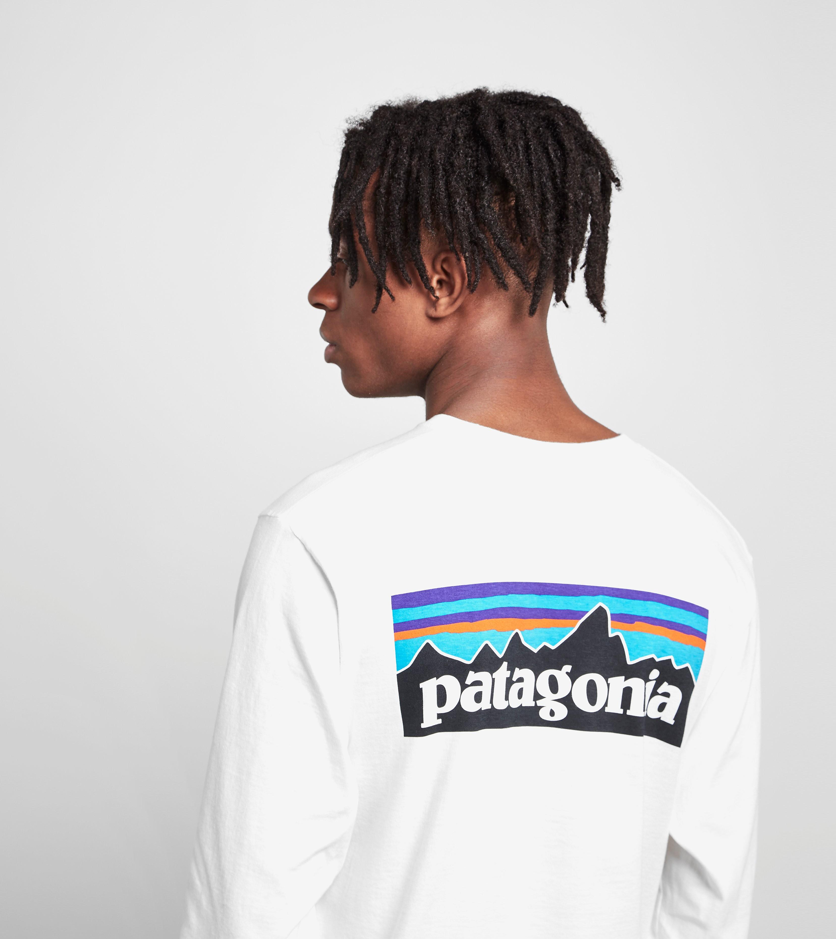 Patagonia Long-Sleeved P6 Logo T-Shirt