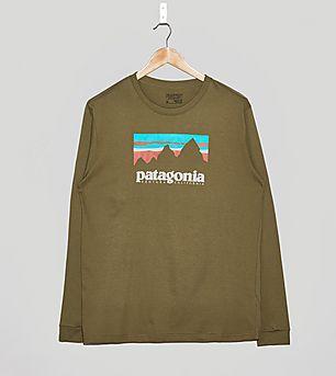 Patagonia Long-Sleeved Shop Sticker T-Shirt