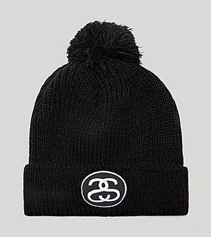 Stussy SS Link Pom Beanie Hat