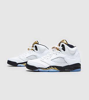 Jordan Retro 5 'White/Metallic Gold'