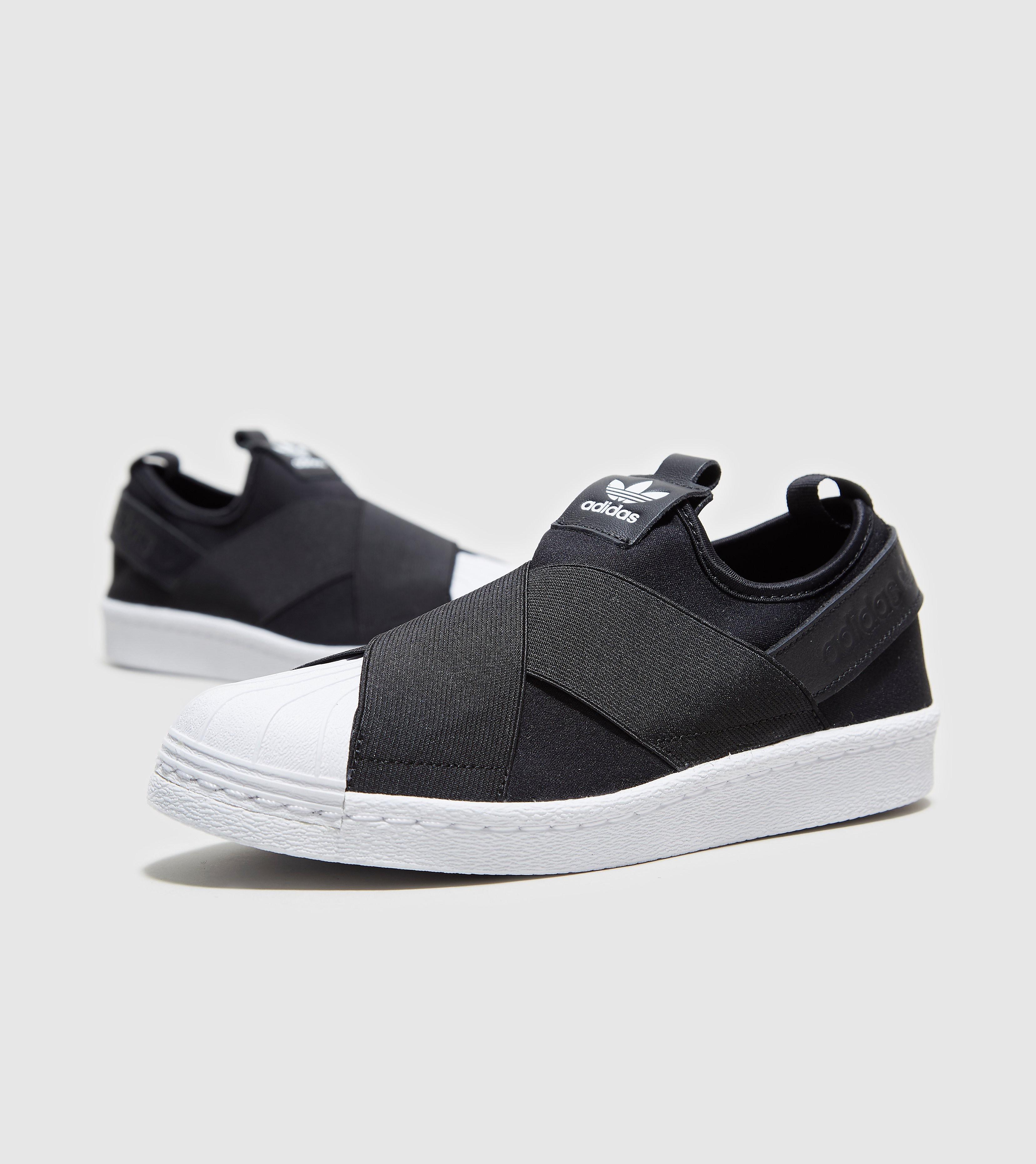 adidas Originals Superstar-instapschoen voor dames, Black/White