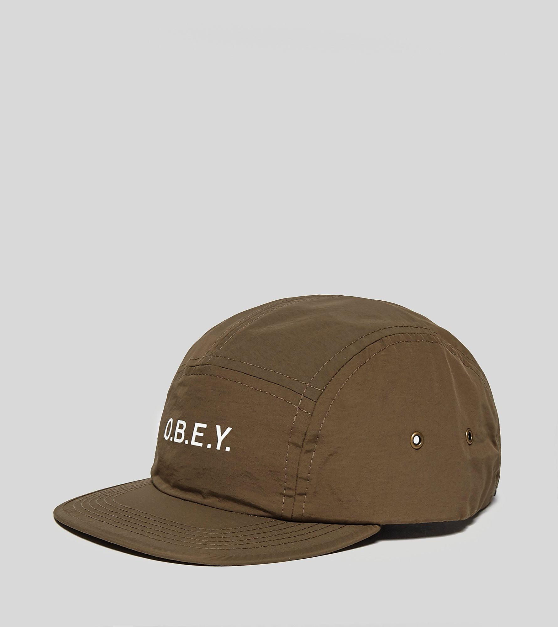 Obey Contorted 5 Panel Cap