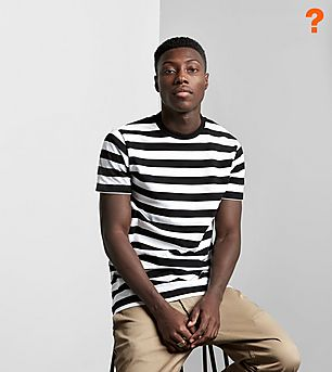 size? Essentials Stripe T-Shirt