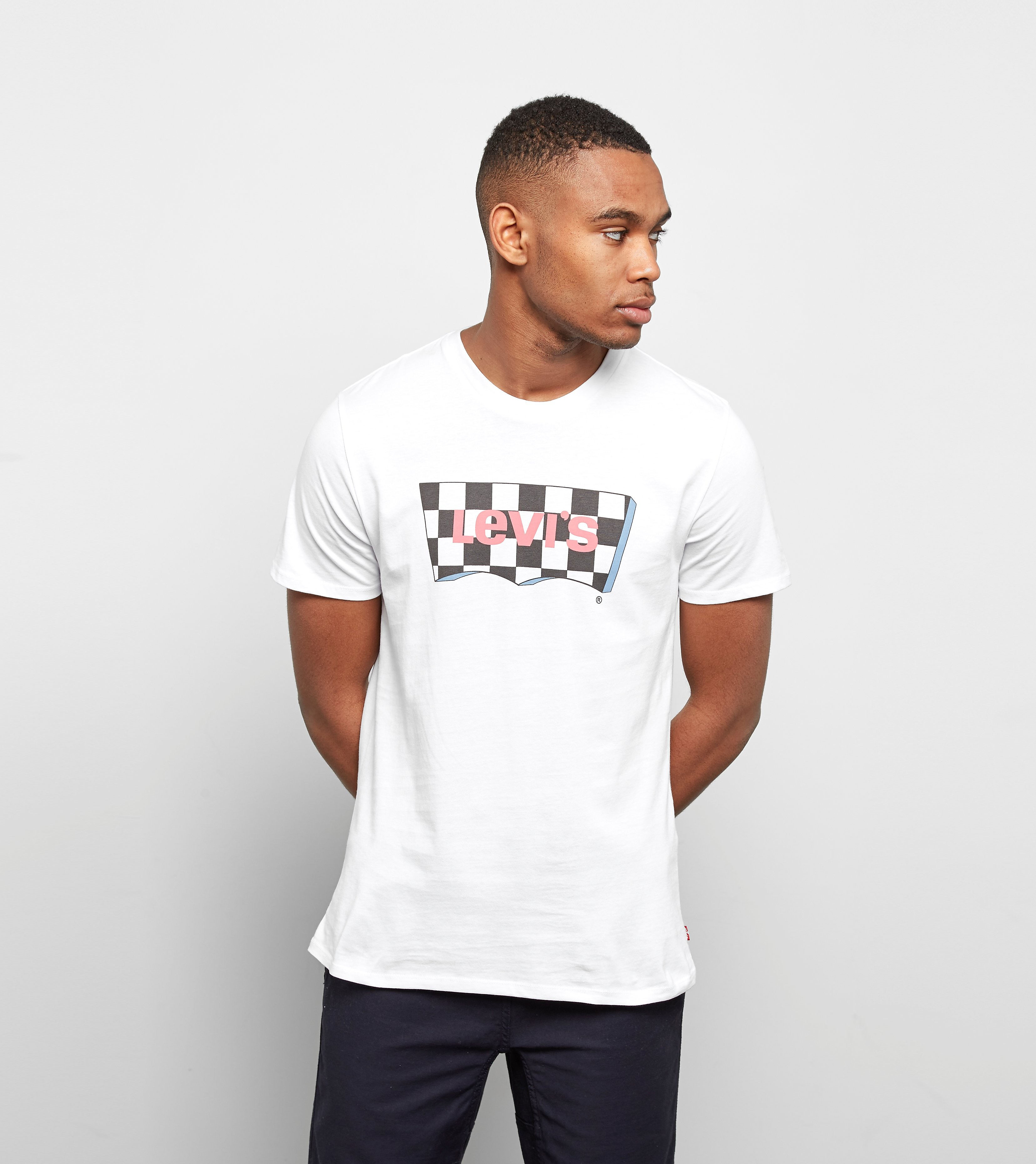 Levis Checker Batwing T-Shirt