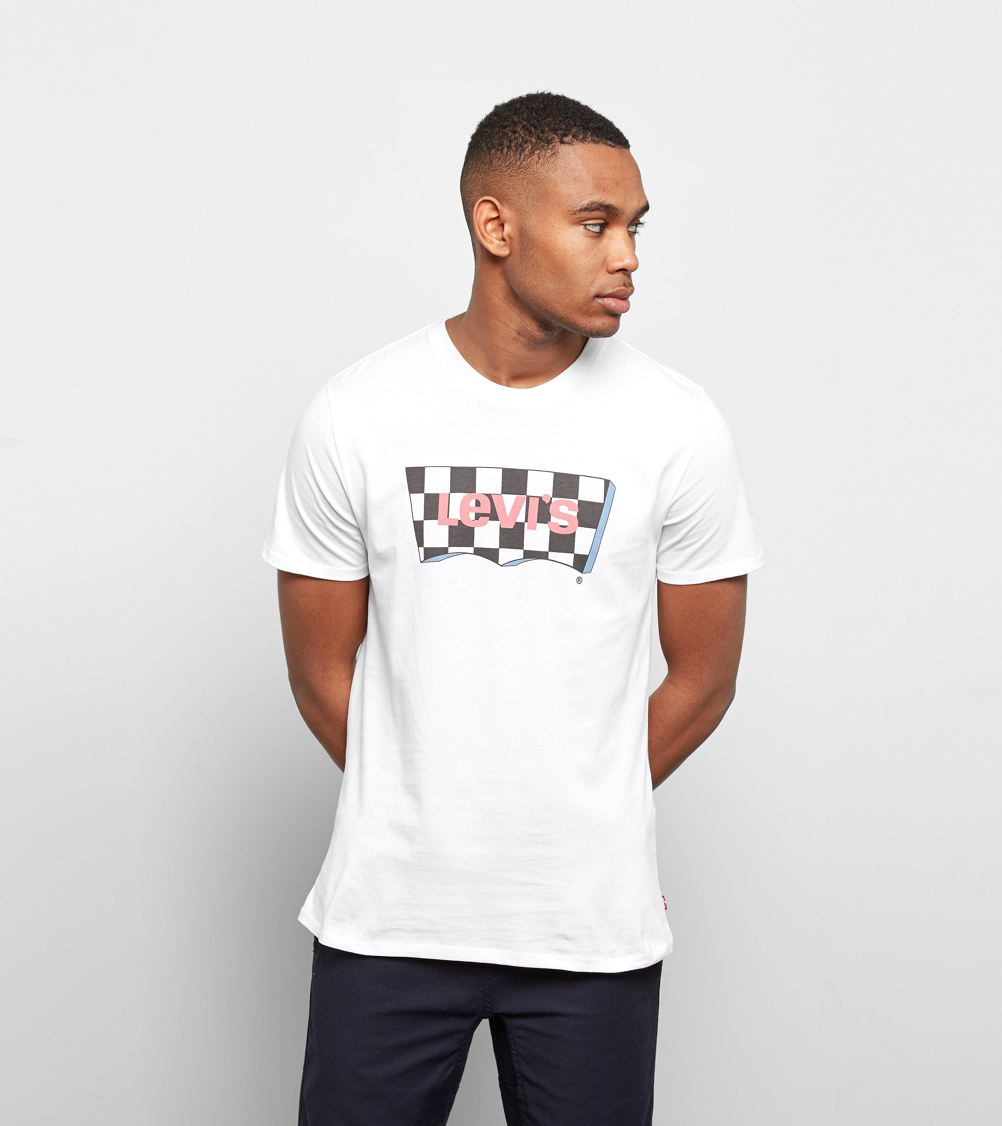 Levis Checker Batwing T-shirt