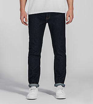 Lacoste L!VE Slim Tapered Jeans 'Raw Indigo'