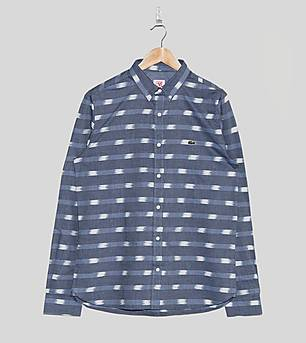 Lacoste L!VE Ikat Long-Sleeved Shirt