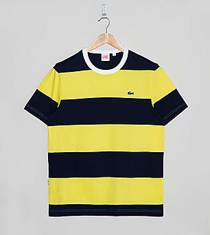Lacoste L!VE Stripe Ringer T-Shirt