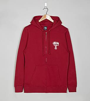 Stussy World Tour Full Zip Jacket