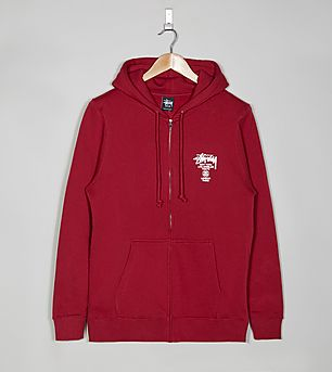 Stussy World Tour Full Zip Jacket