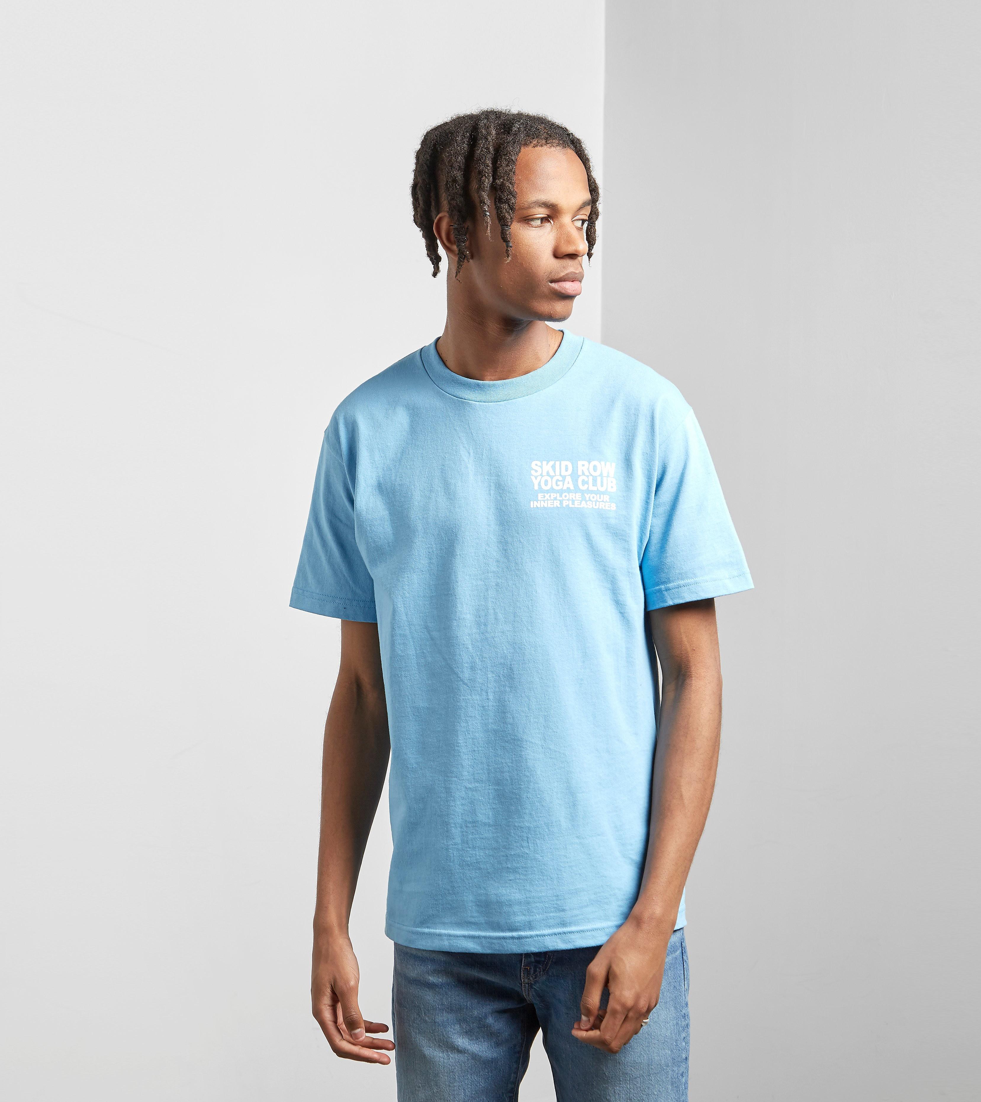 PLEASURES Skid Row Yoga T-Shirt