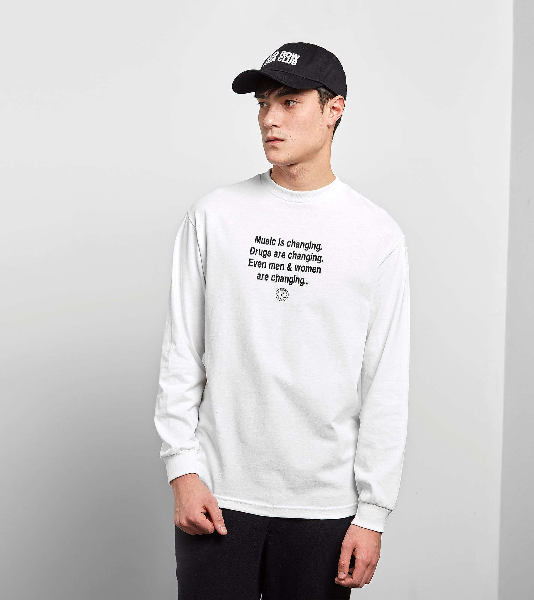 PLEASURES Time Long Sleeved T-Shirt