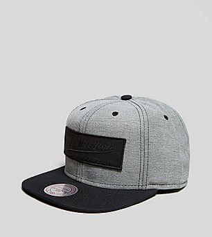 Mitchell & Ness Reverse Denim Snapback Cap - size? Exclusive