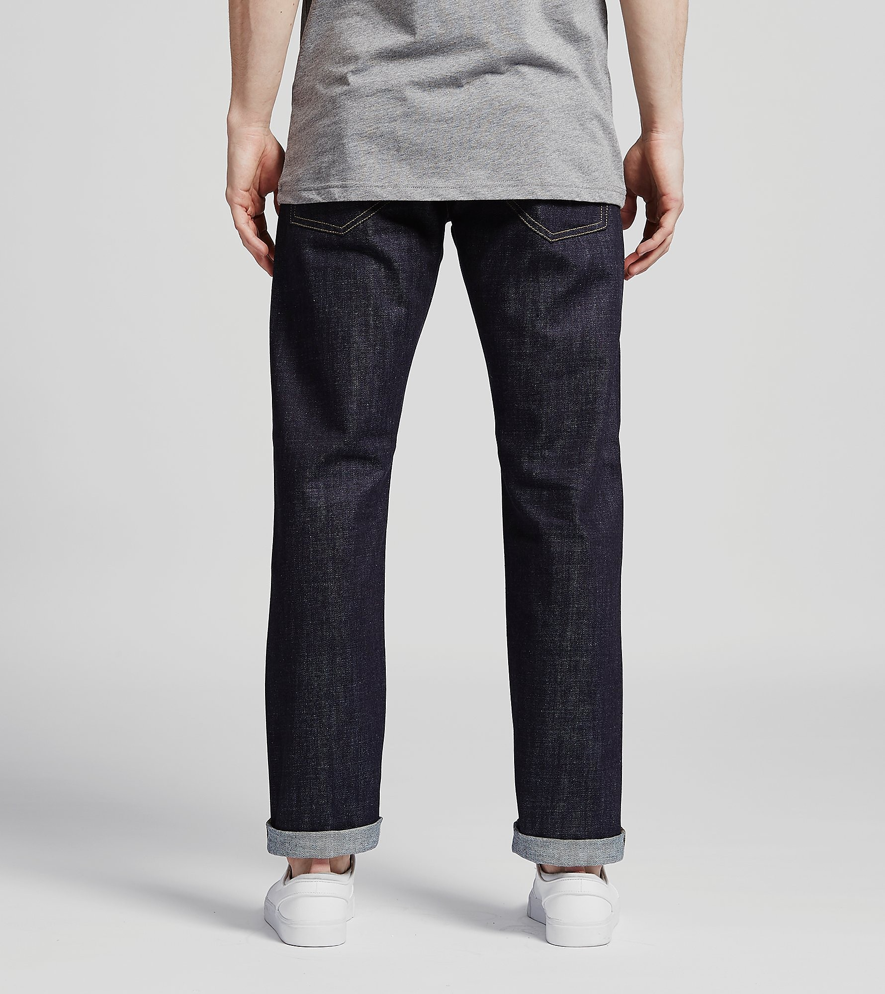Carhartt WIP Pantalones Klondike II Blue Tapered