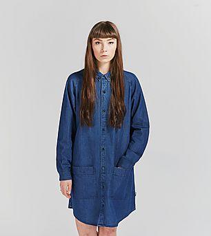 Carhartt WIP Jo Long-Sleeved Shirt Dress