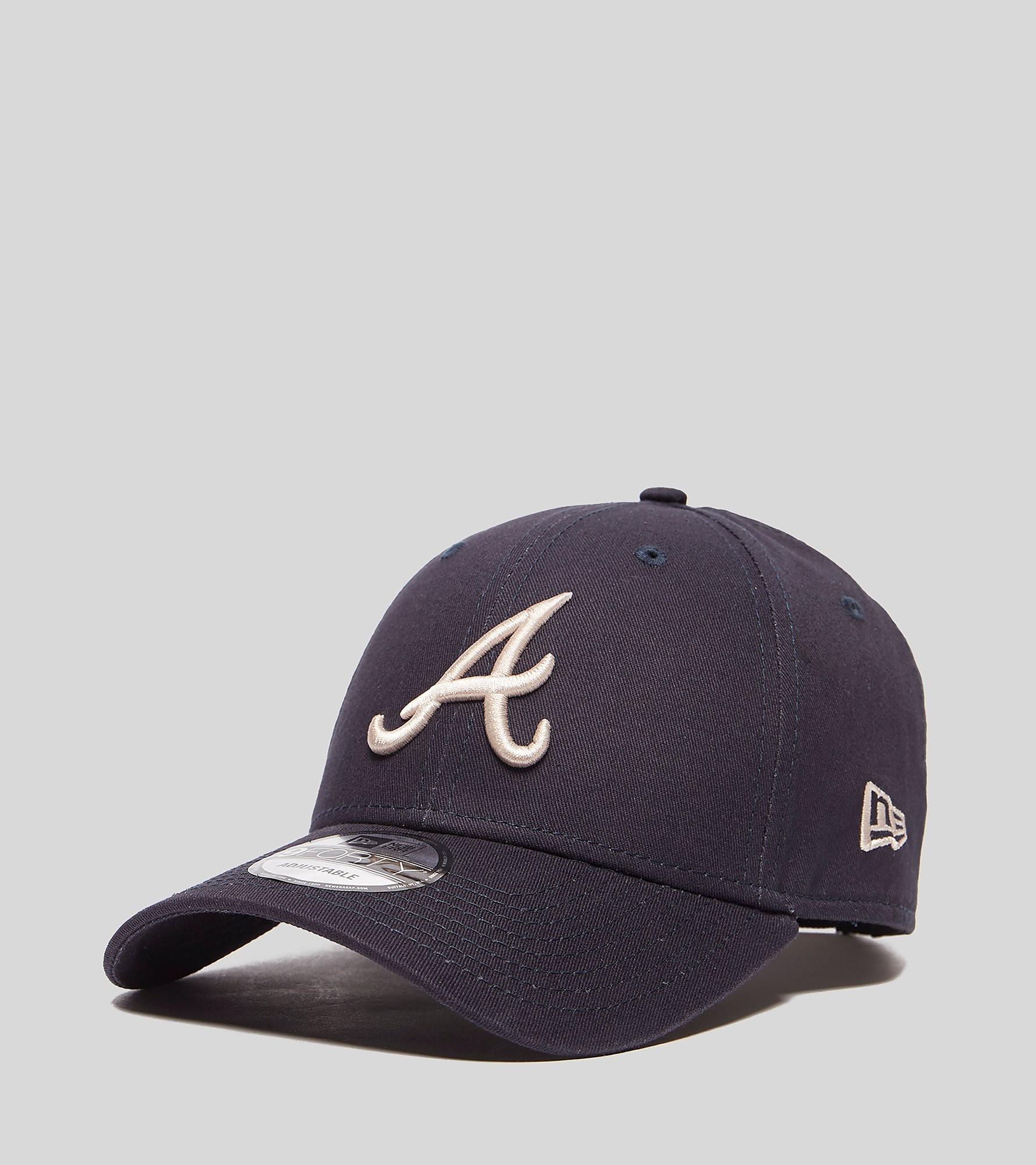 New Era 9FORTY Atlanta Braves Cap, Blauw
