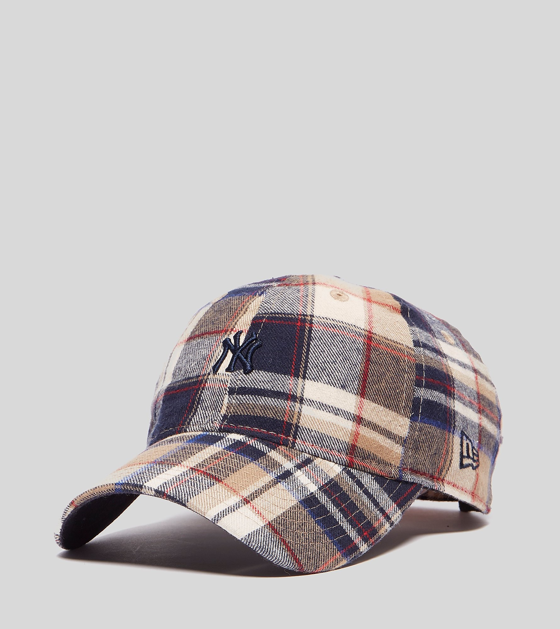 New Era 9FORTY New York Yankees Plaid Cap