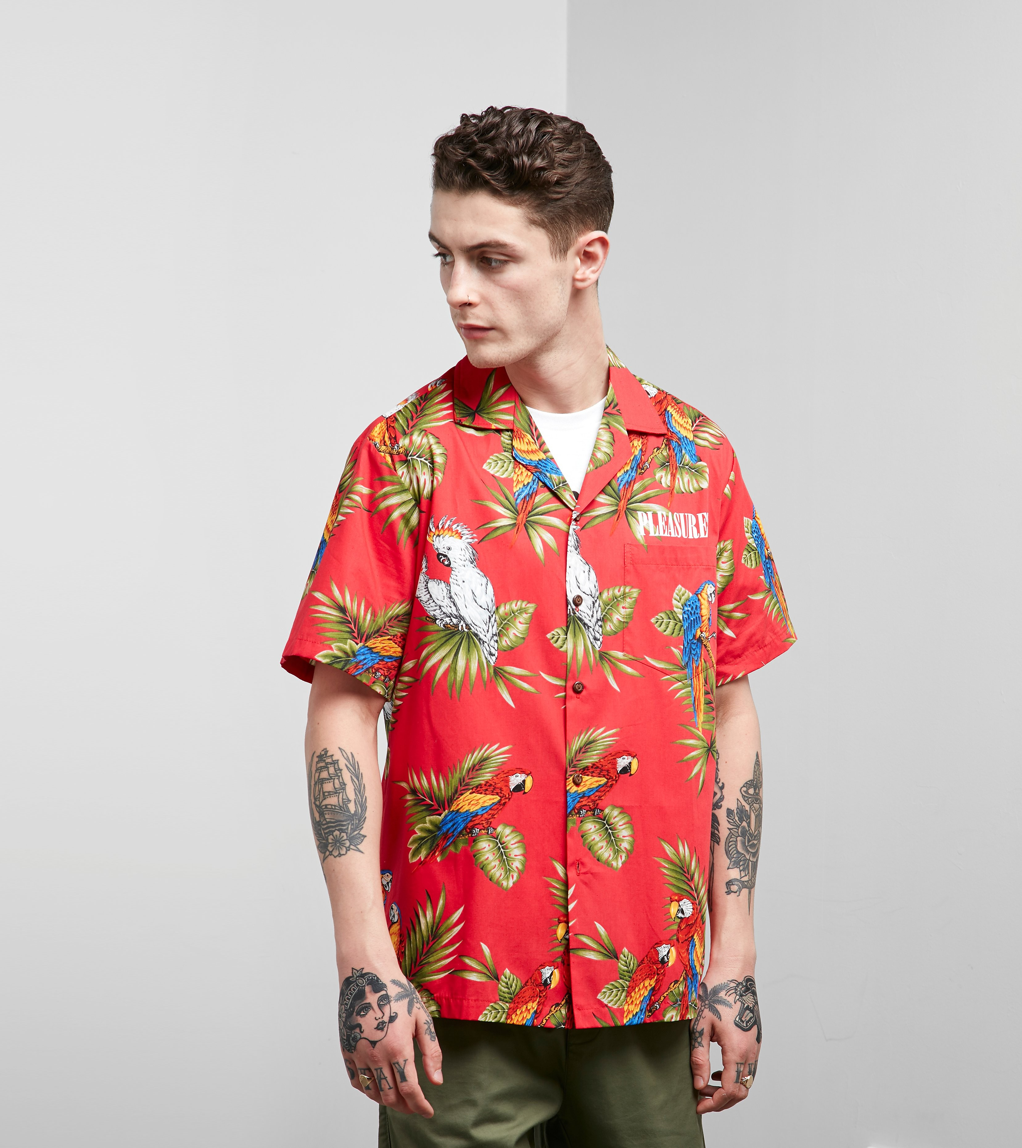 PLEASURES Forever Hawaiian Shirt
