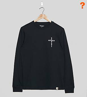 Carhartt WIP Long-Sleeved Cross T-Shirt - size? Exclusive