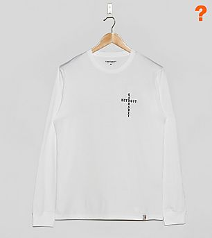 Carhartt WIP Long-Sleeved Cross T-Shirt - size? Exclusive