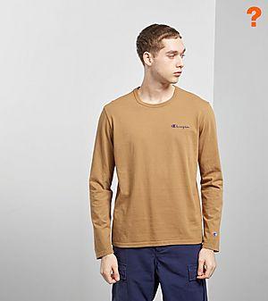 b9c929545424 Champion Garment Dyed Long Sleeved T-Shirt -size