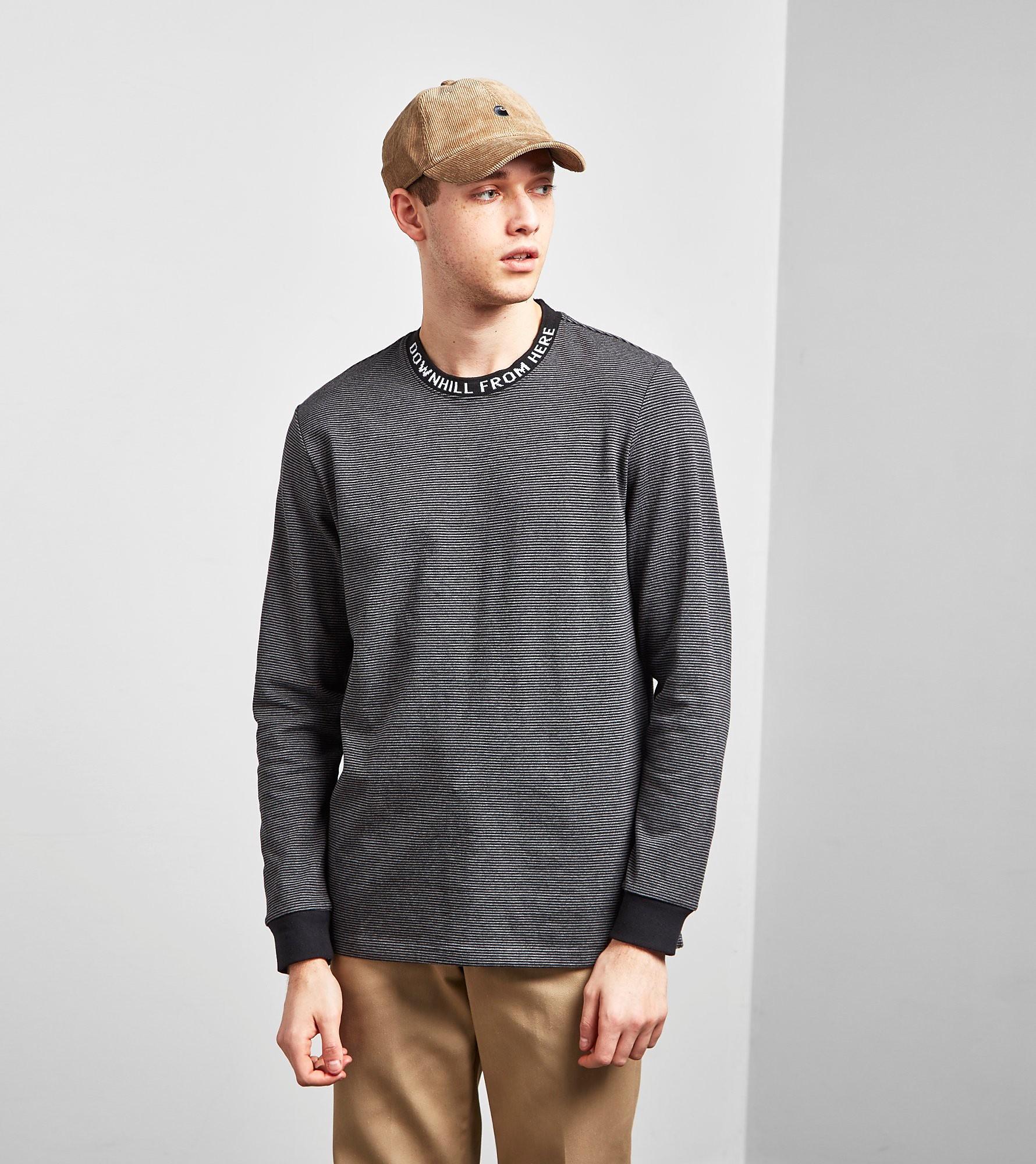 HUF T-Shirt Manches Longues Downhill Stripe