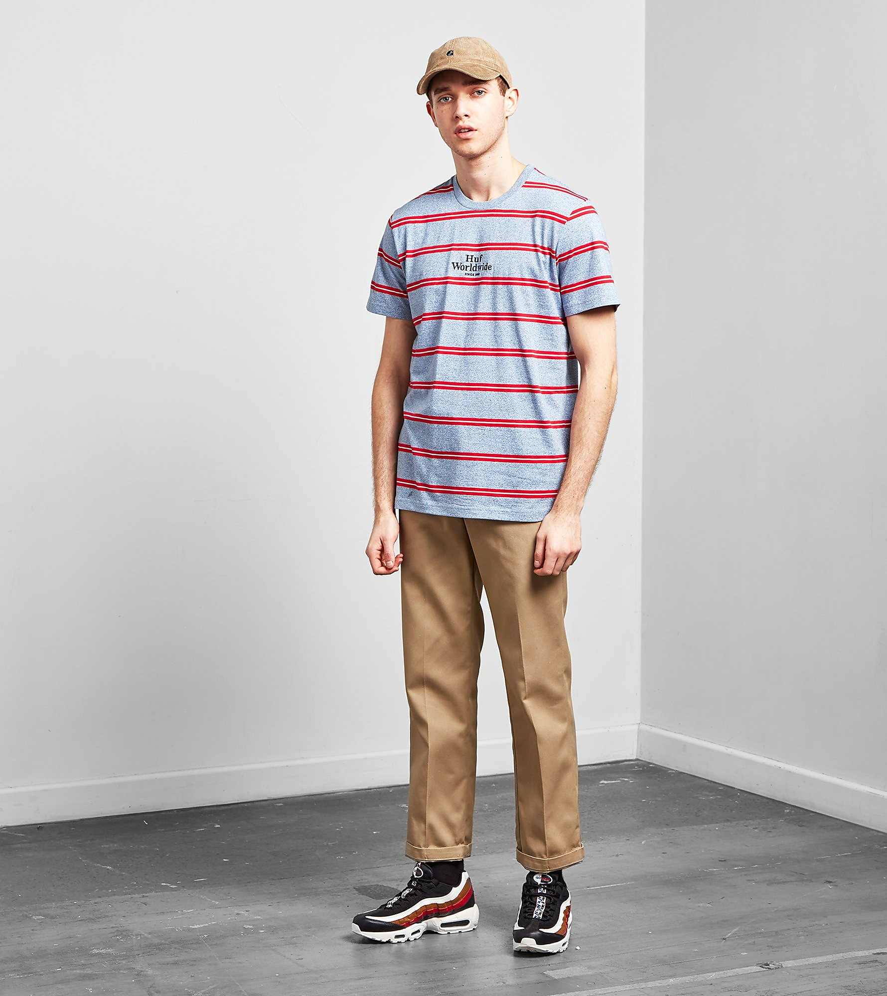 HUF Gold Gate Stripe T-Shirt