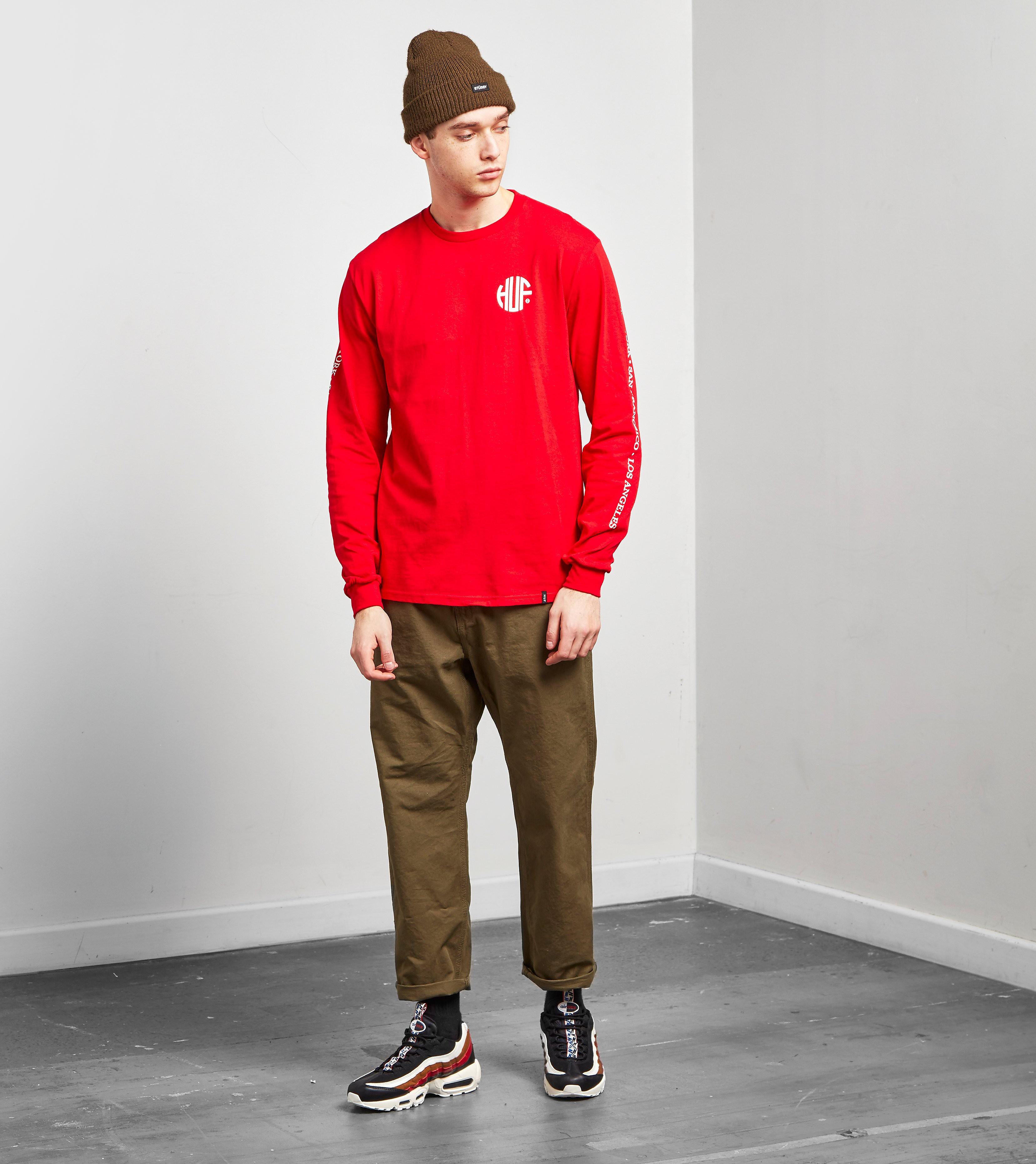 HUF T-Shirt Manches Longues Regional