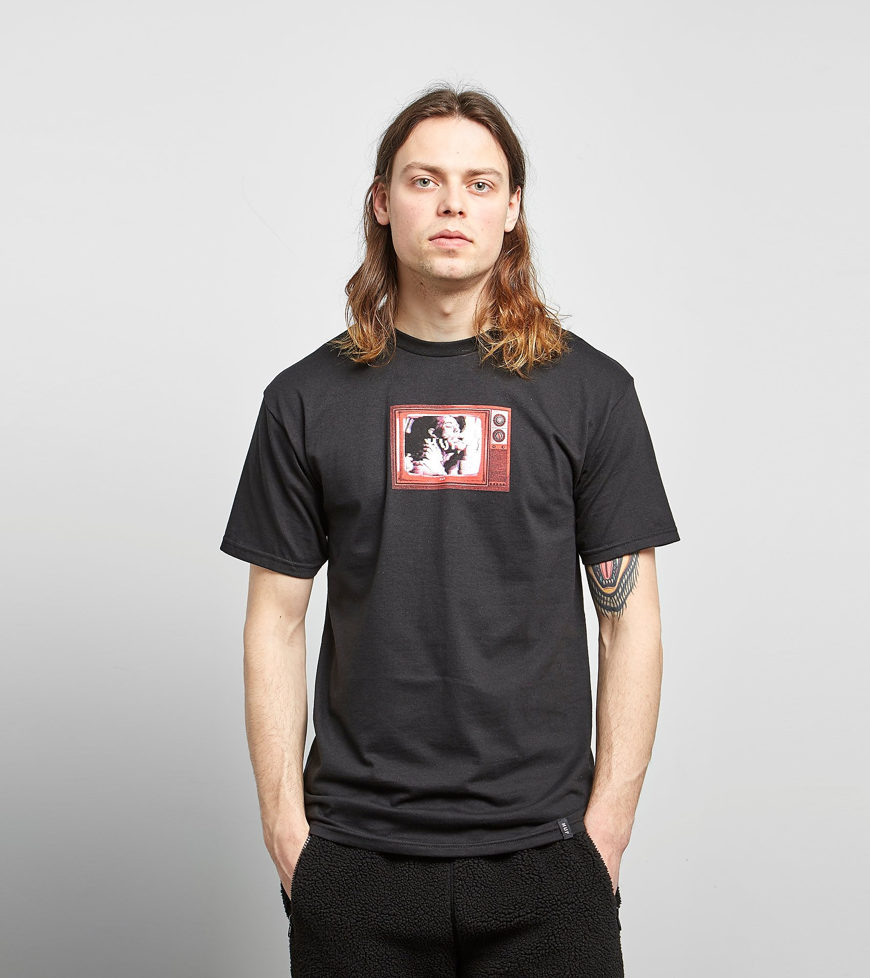 HUF Scramble TV T-Shirt - size? Exclusive