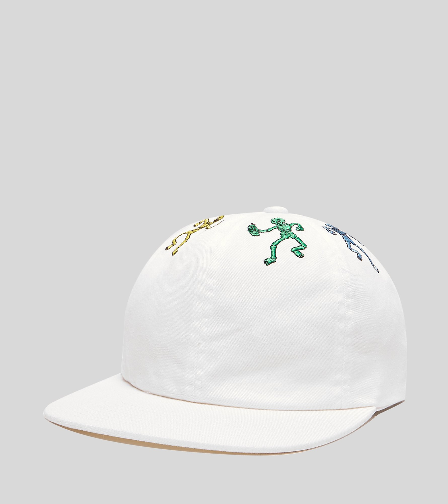 HUF Owsley 6 Panel Cap, Wit