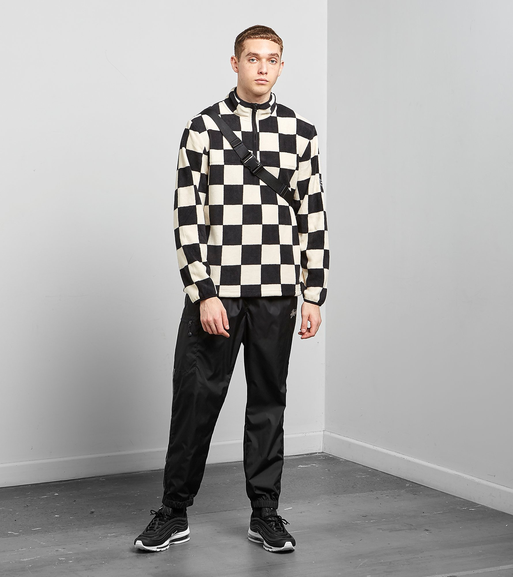 Stussy Check Mock Sweatshirt