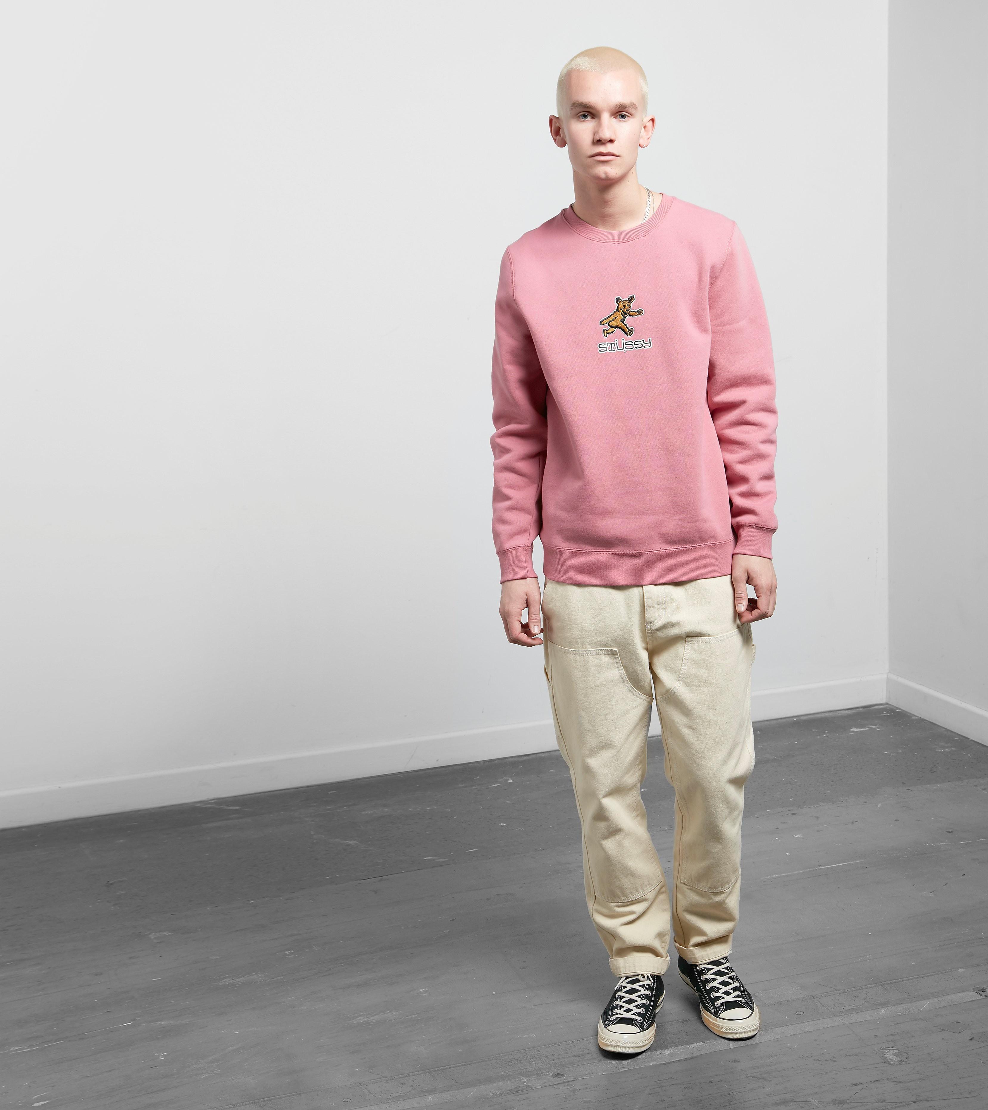 Stussy Bear Pique Sweatshirt