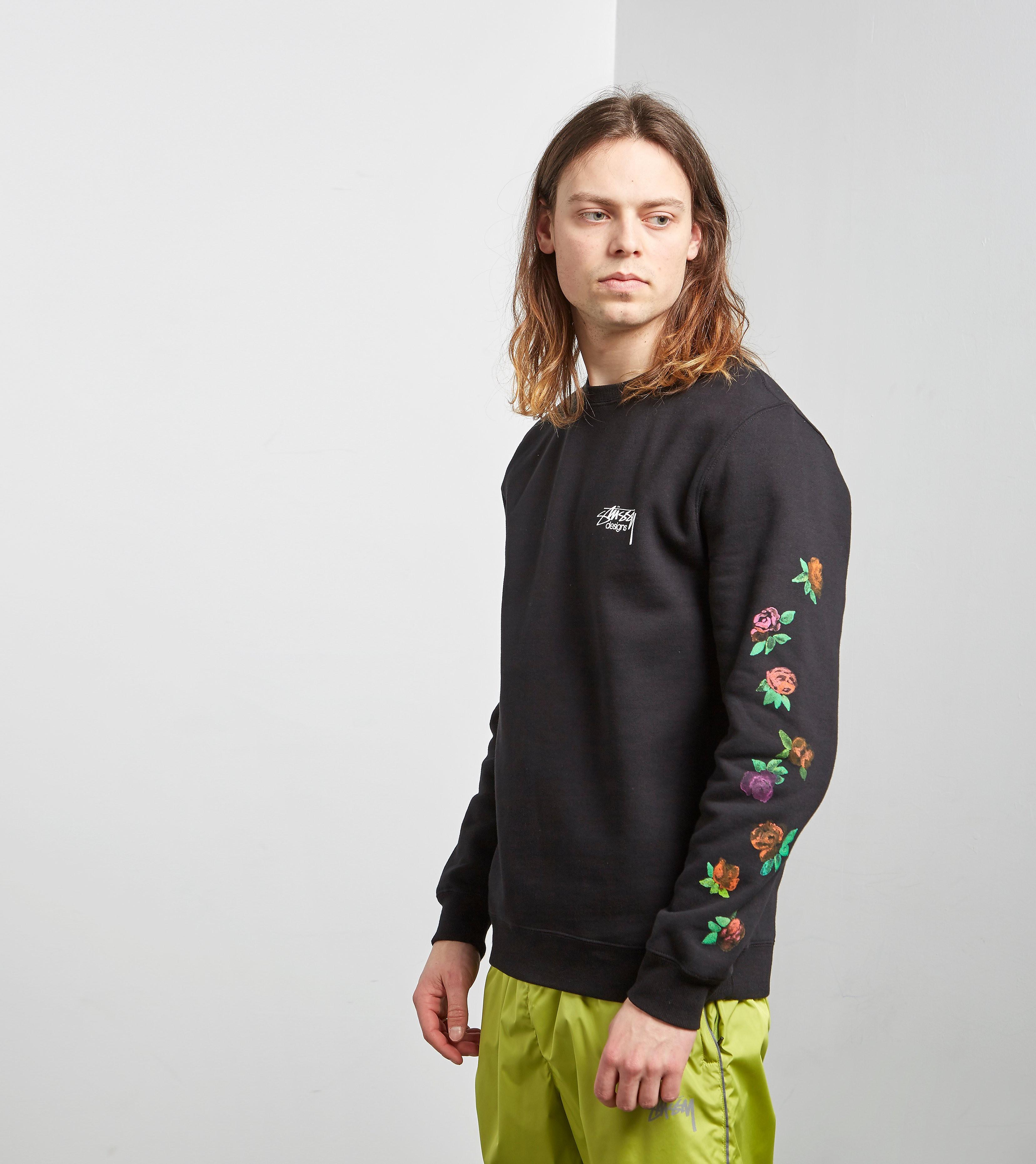 Stussy Roses Crew Sweatshirt