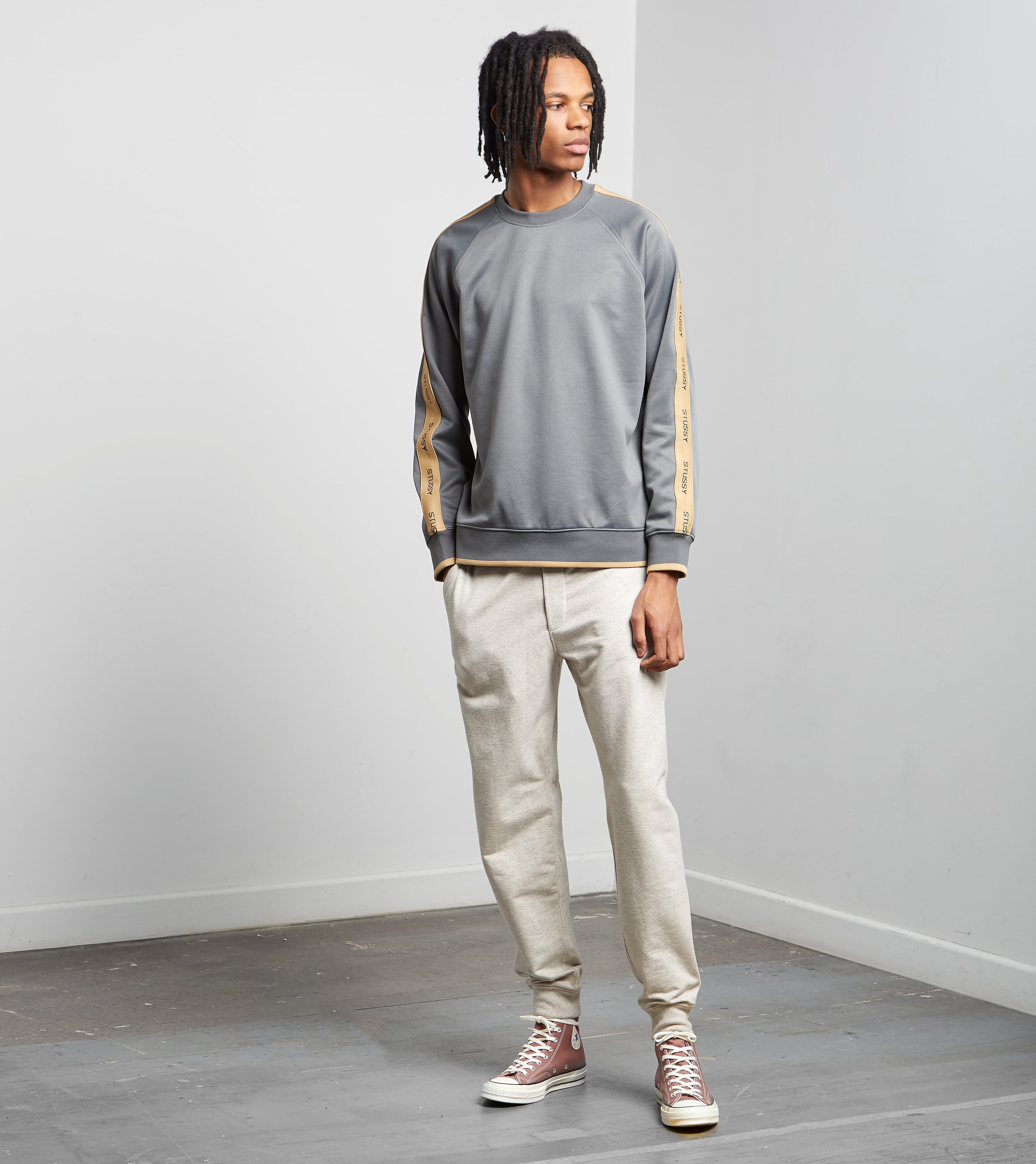 Stussy Poly Track Crew Sweat