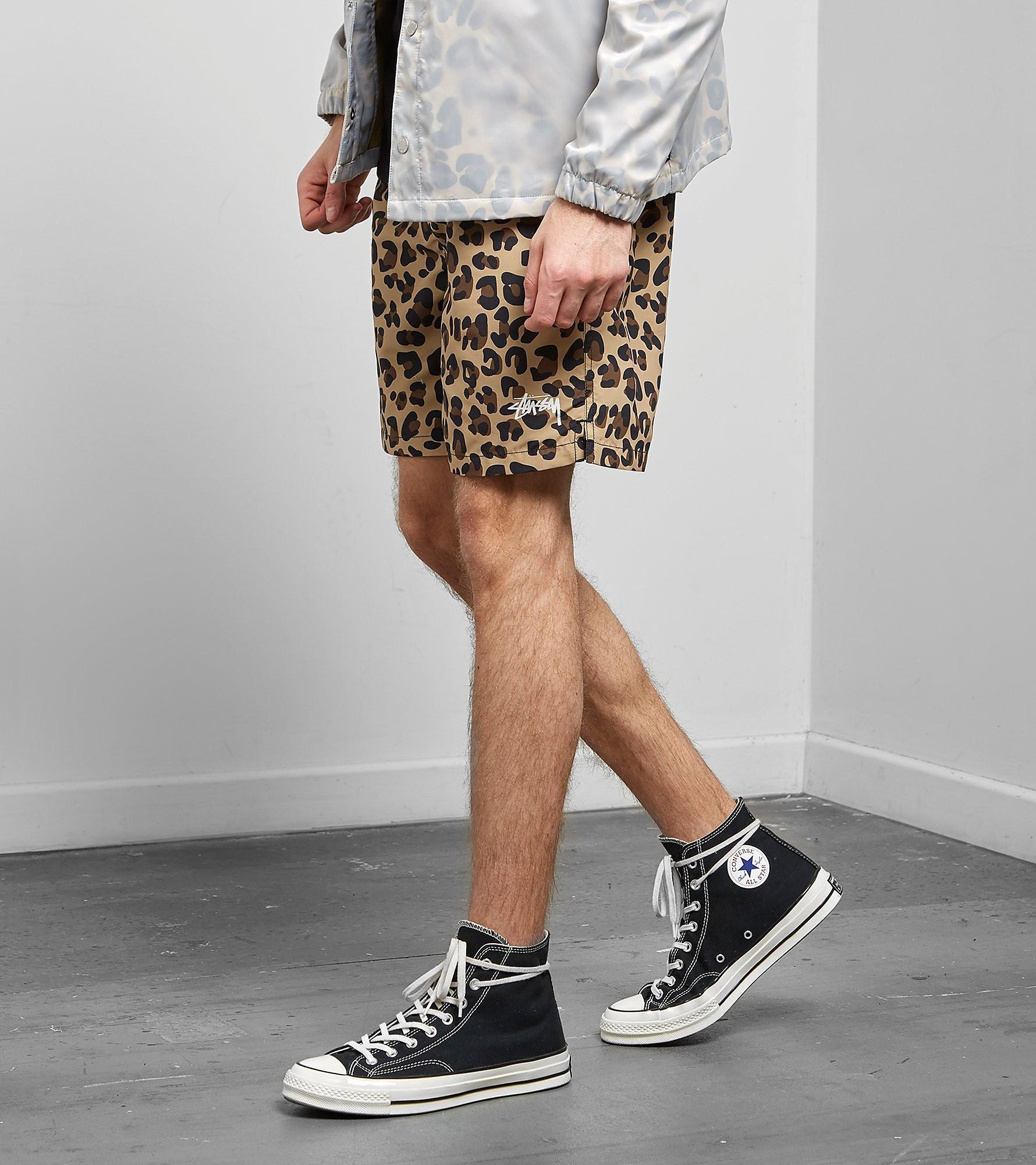 Stussy Leopard Water Shorts