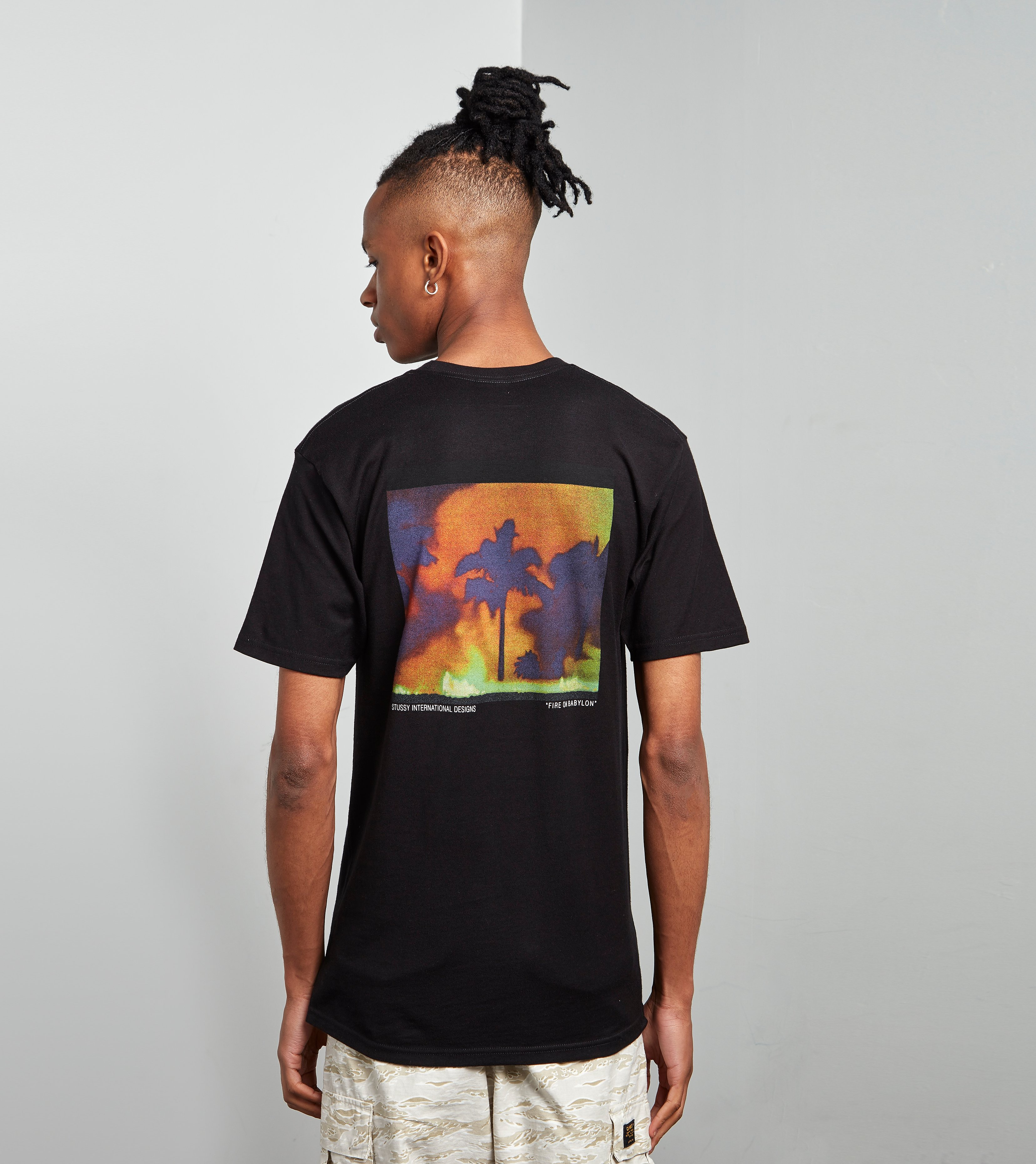 Stussy T-Shirt Fire On Babylon