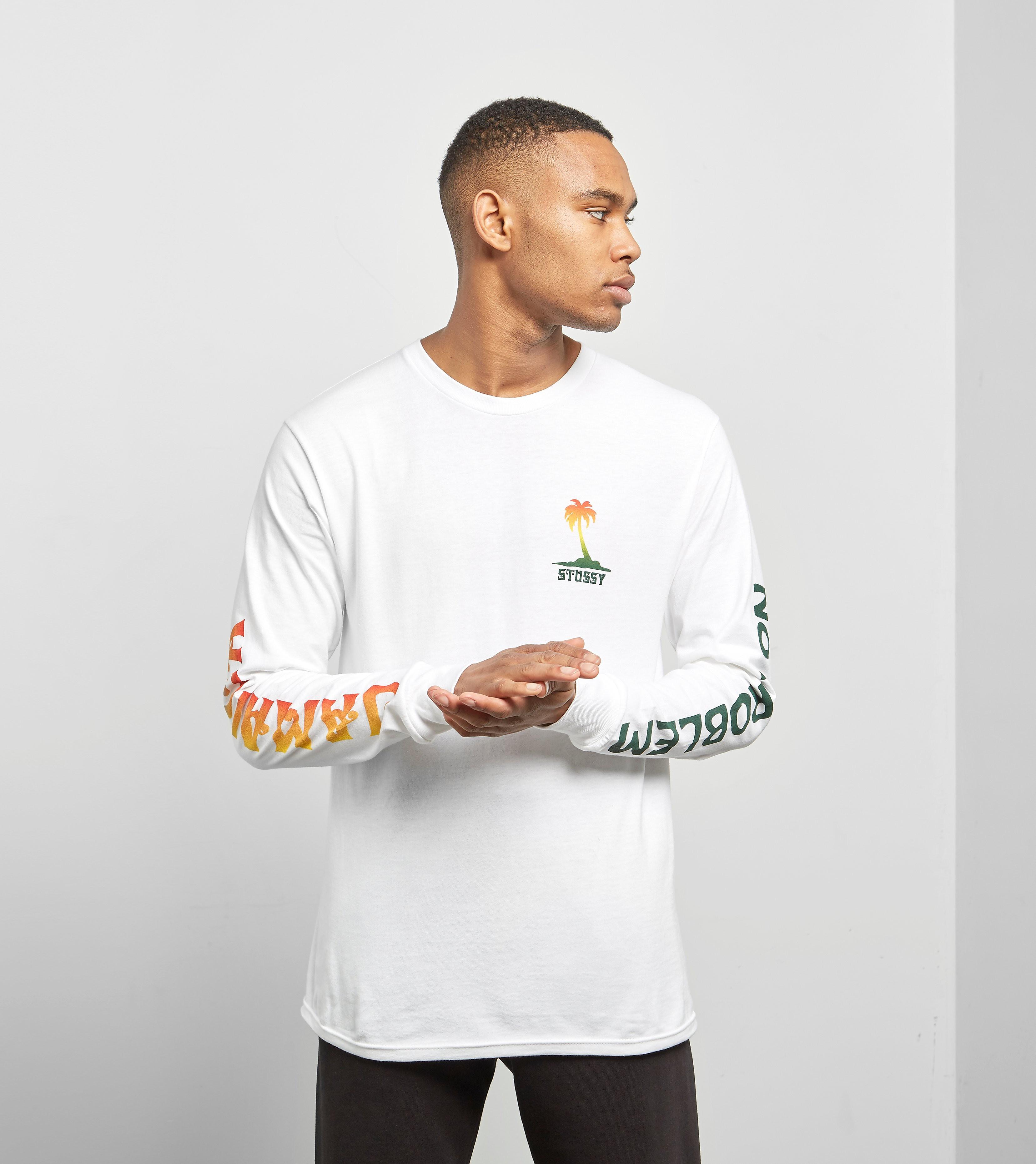 Stussy Långärmad Jamaica T-skjorta