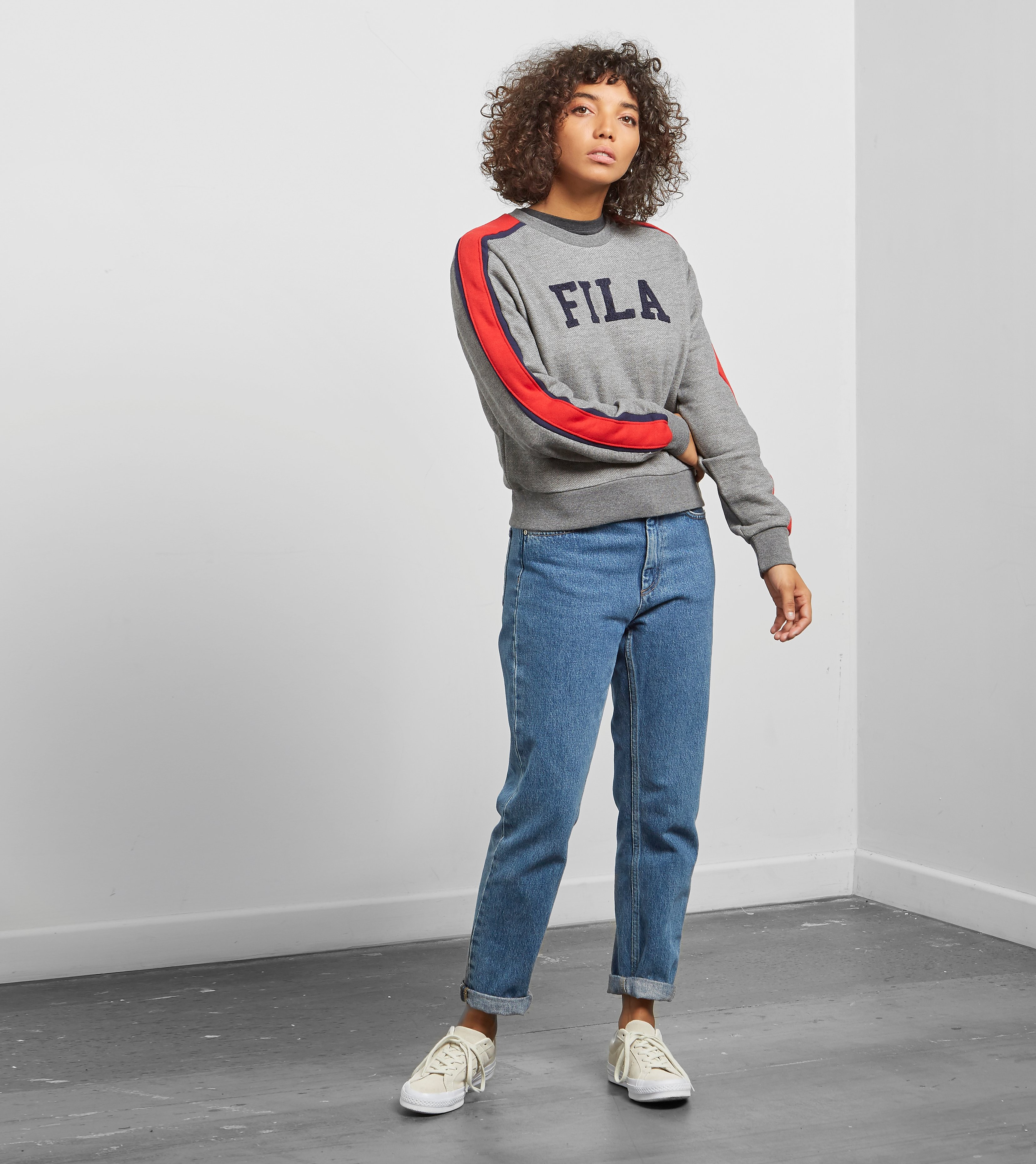 Fila Alanis Oversized Crewneck Sweatshirt - size?exclusive