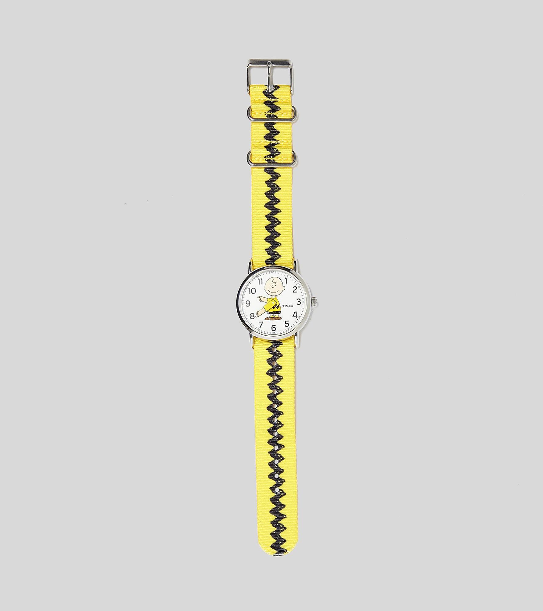 Timex Weekender x Peanuts Charlie Uhr