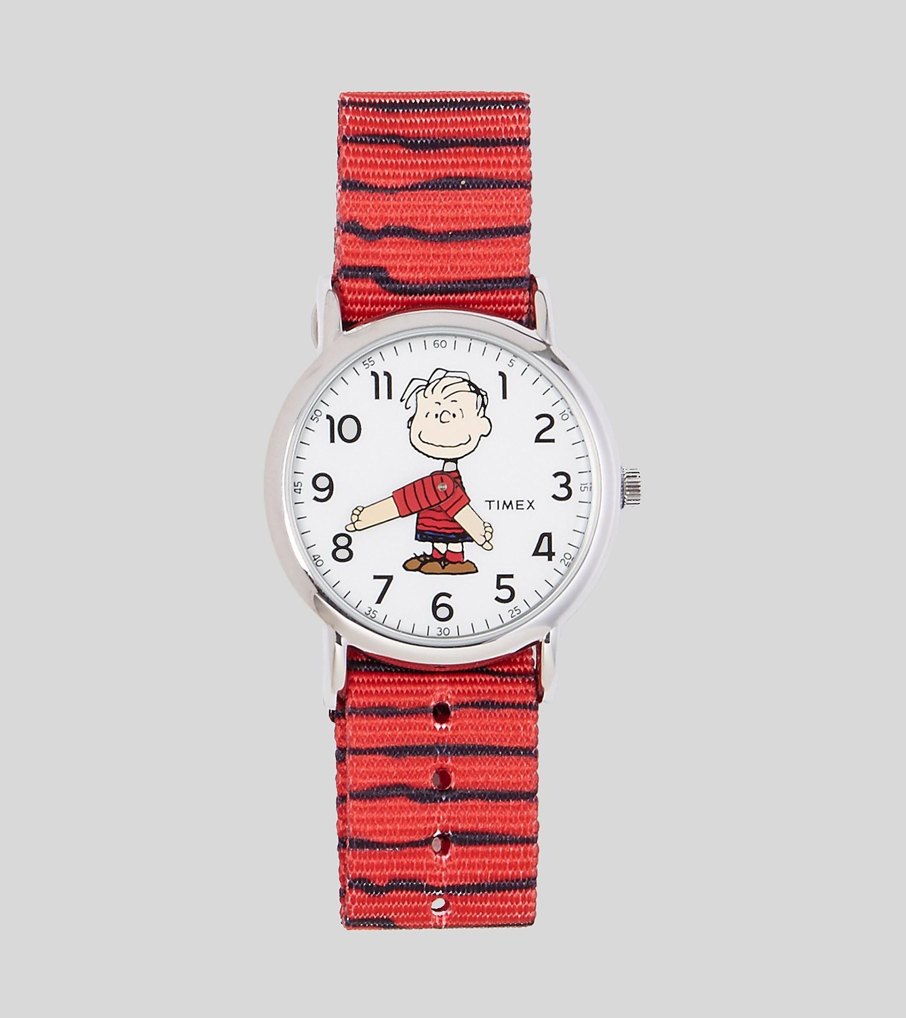 Timex Weekender x Peanuts Linus Uhr