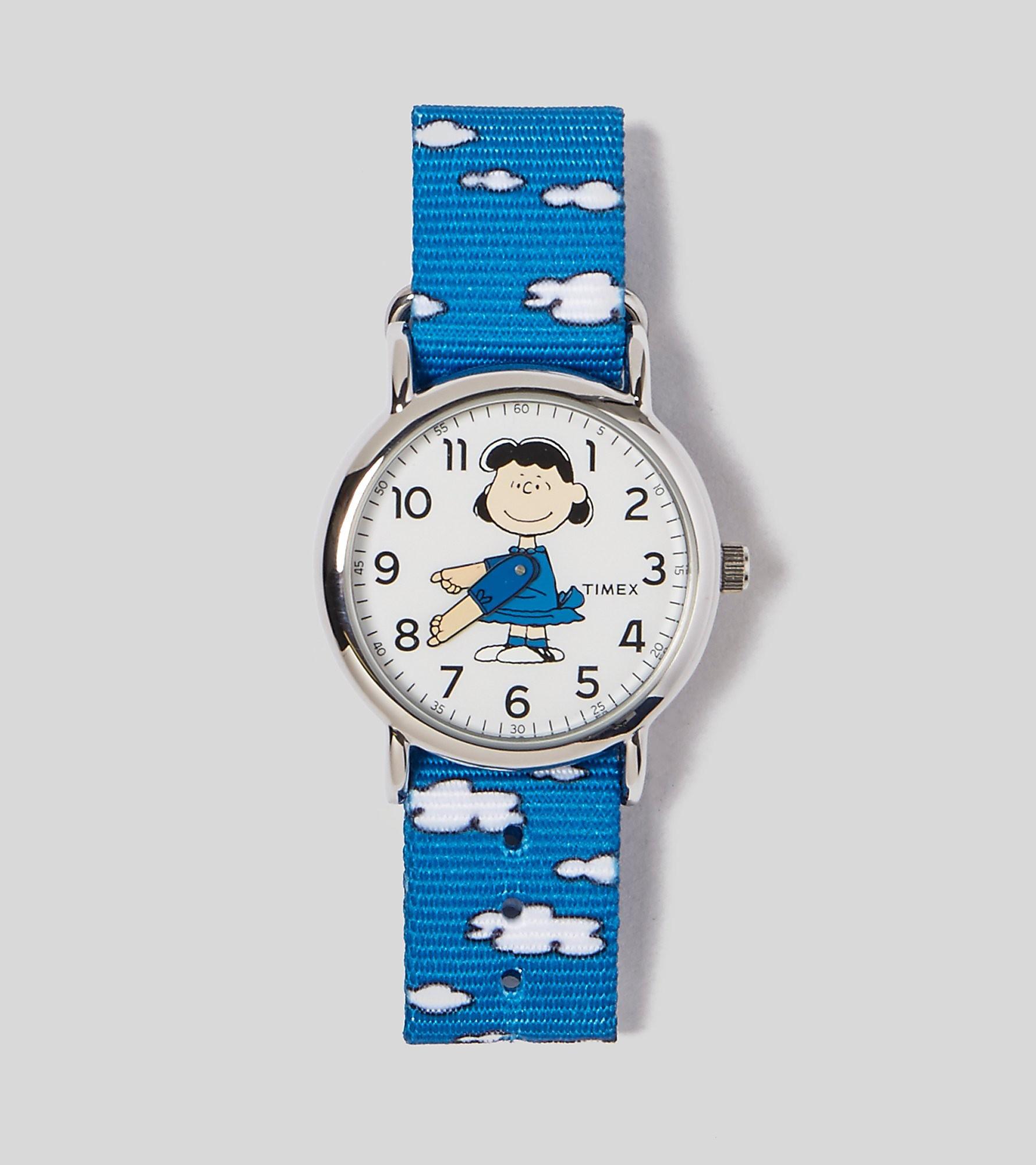Timex Montre Weekender x Peanuts Lucy