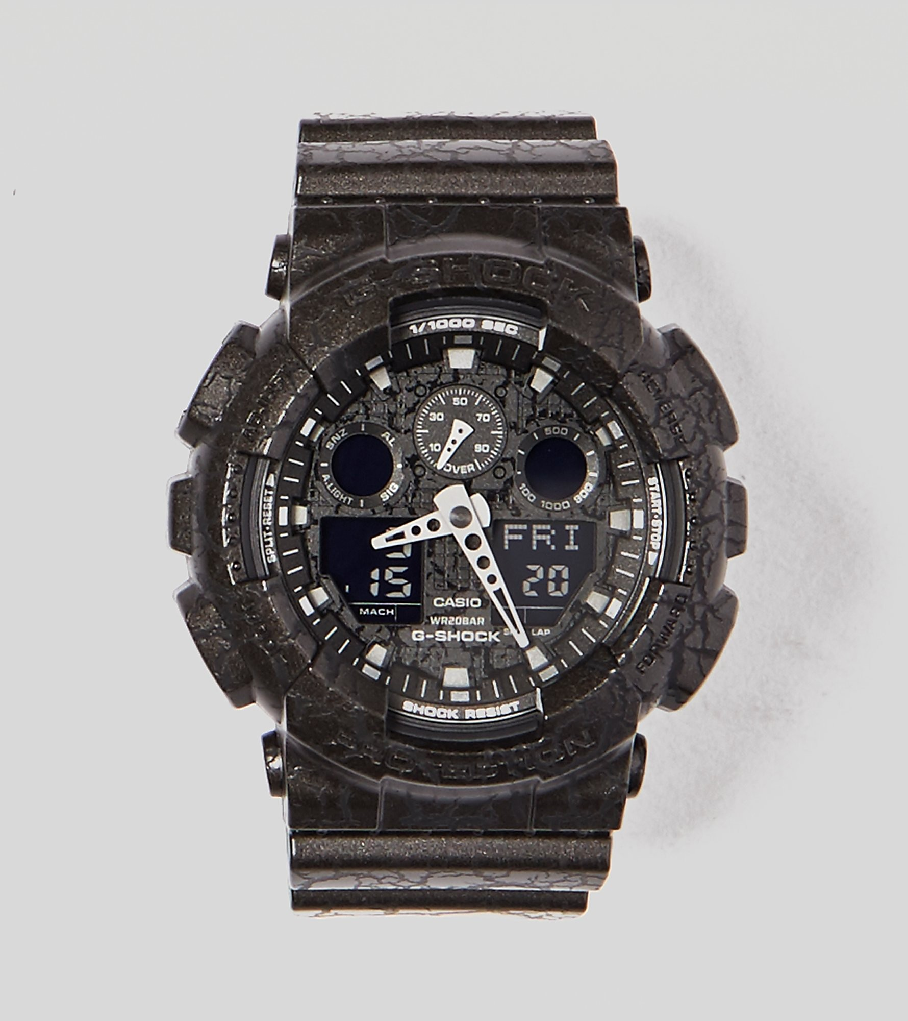 G-Shock GA100CG1AER Cracked Watch