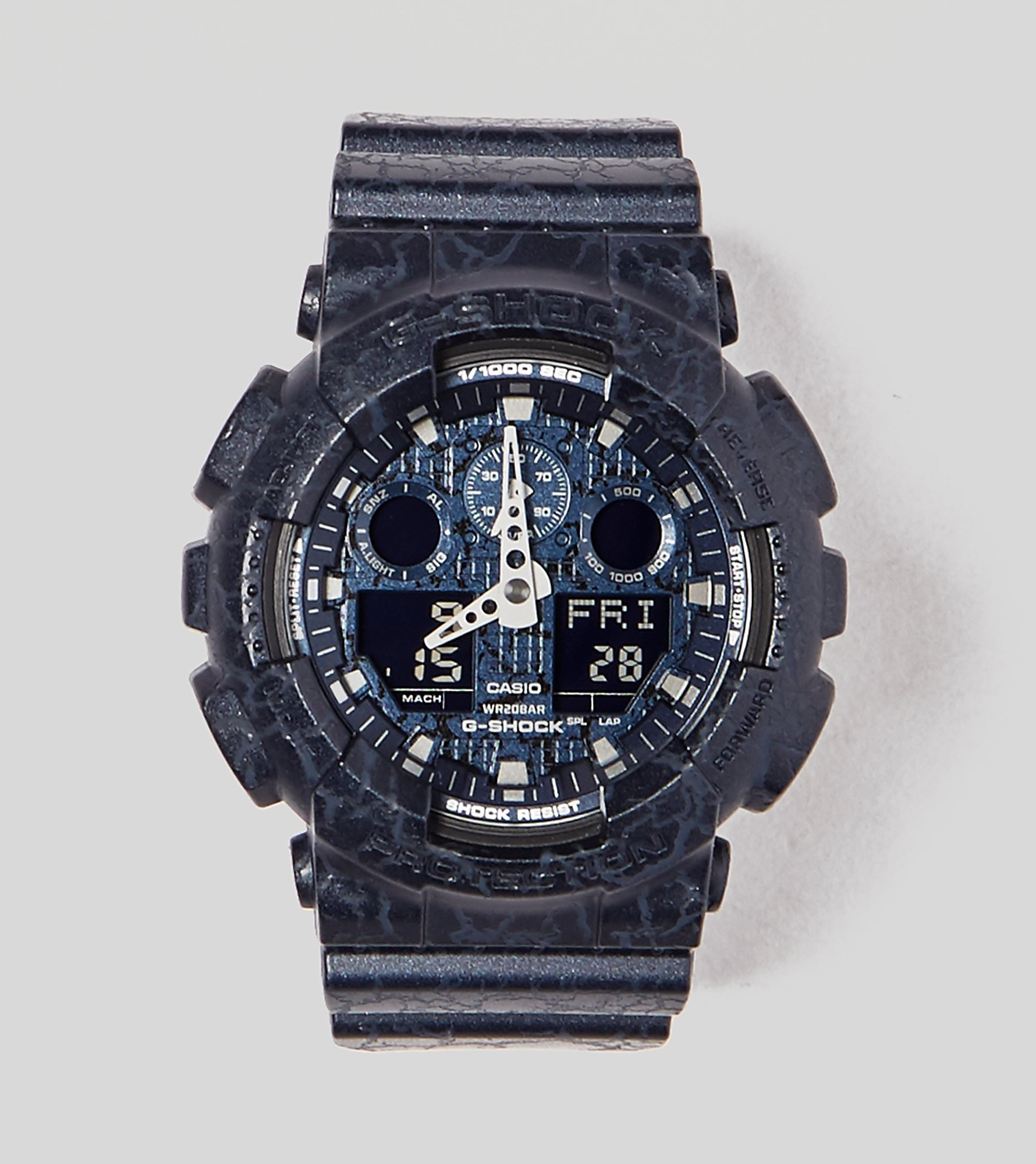 G-Shock GA100CG2AER Cracked Watch