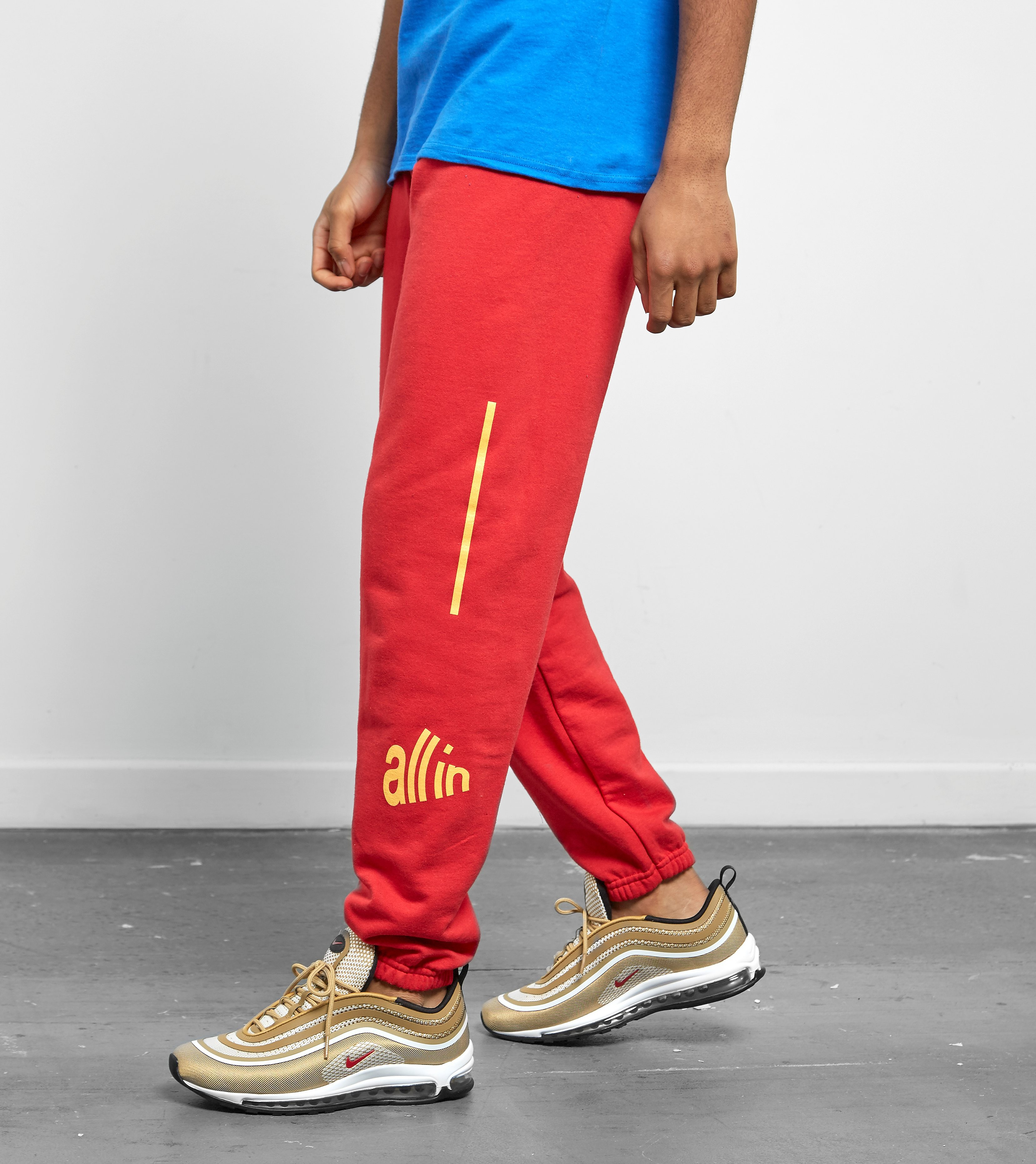 all in Signal Sweatpants