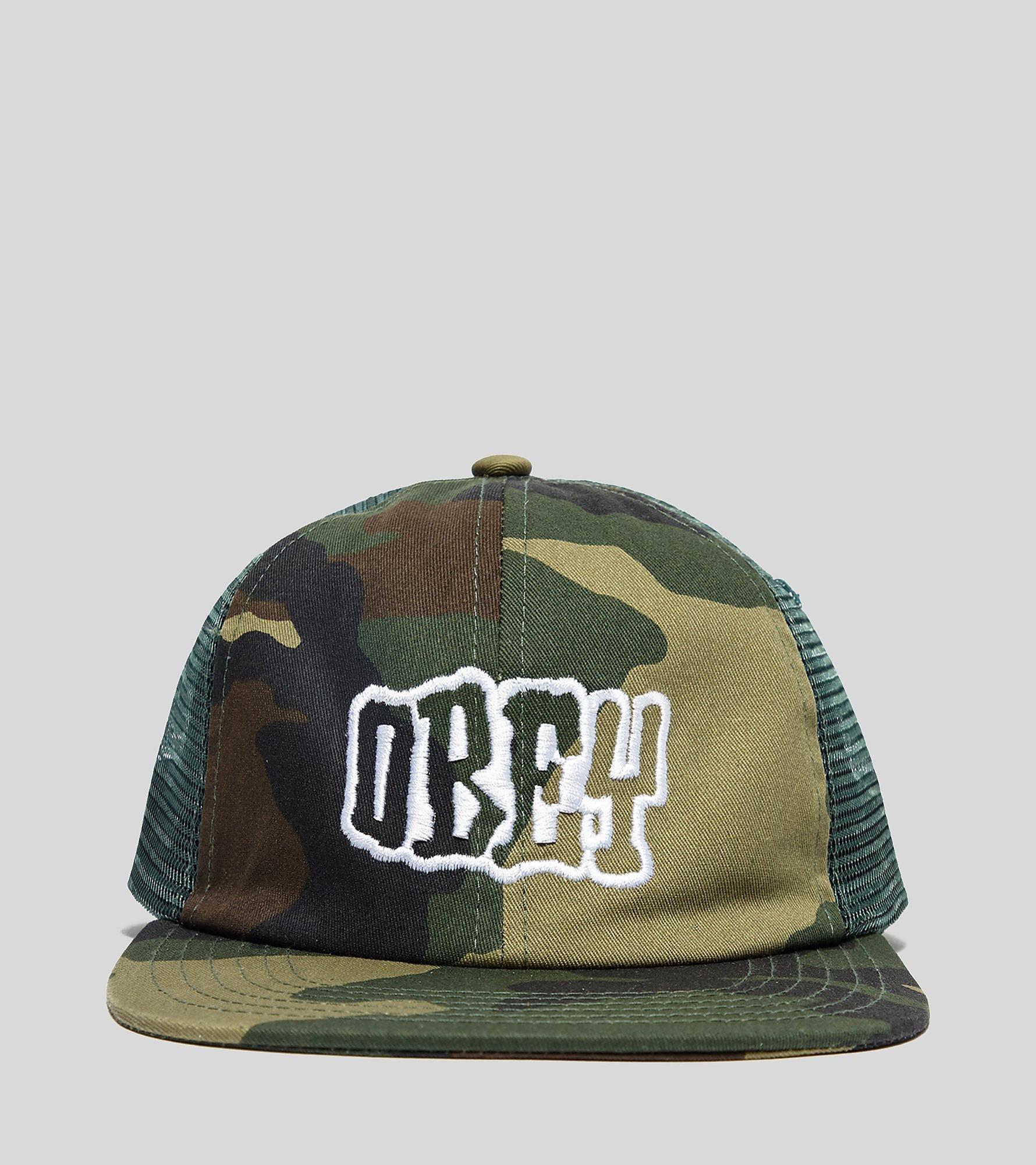 Obey Runnin Trucker Cap