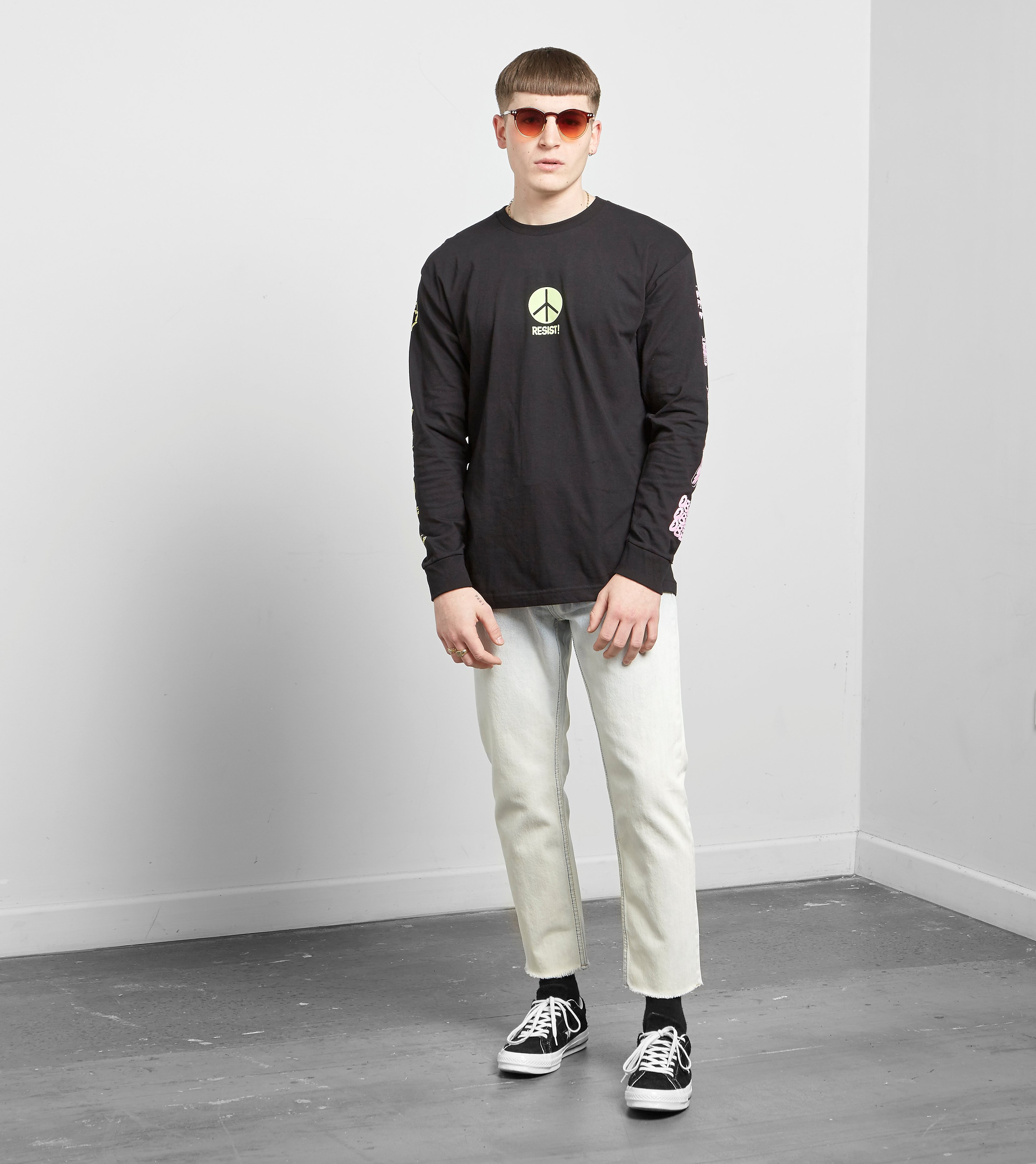 Obey Long Sleeved Next Wave T-Shirt