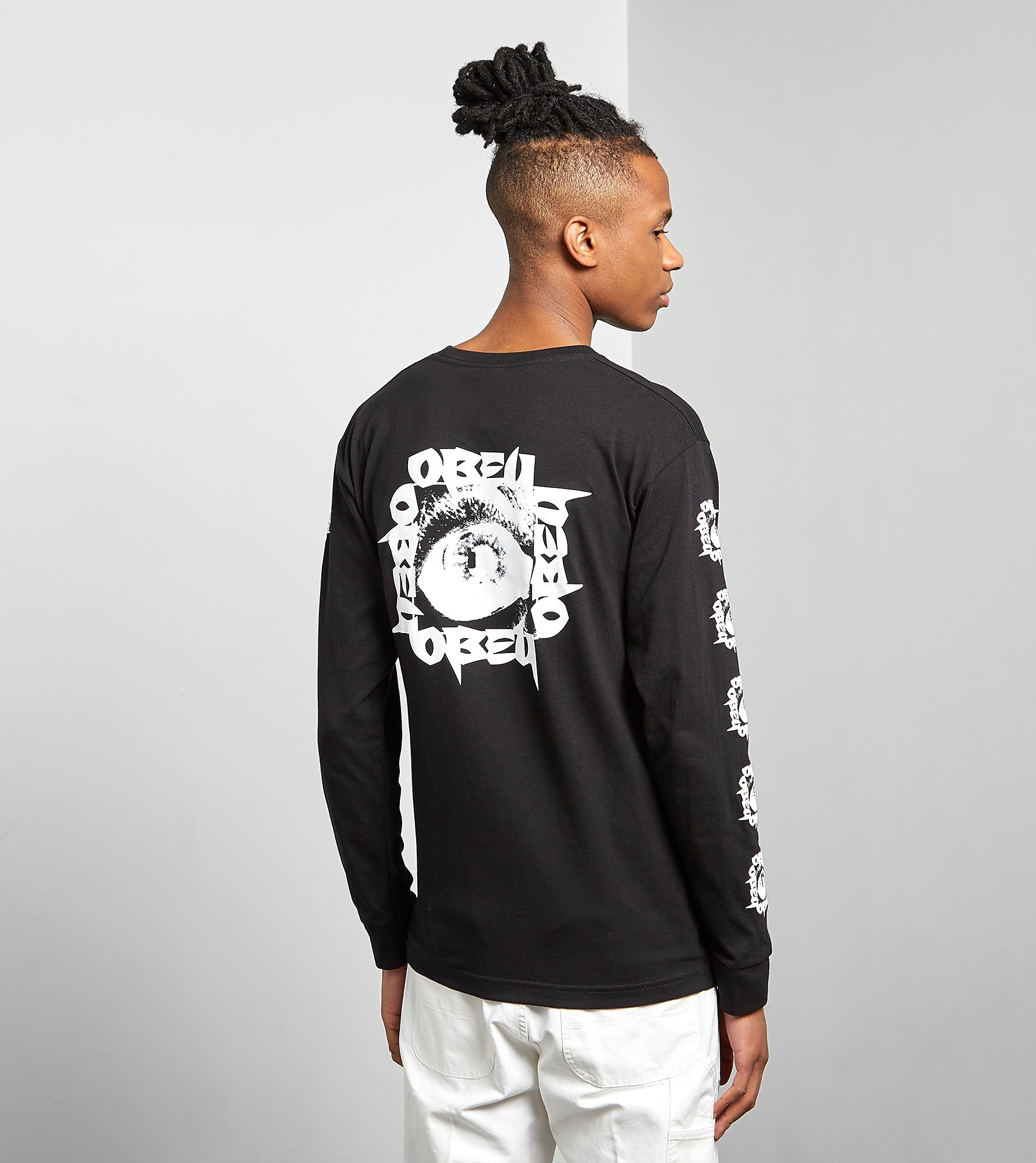 Obey Long Sleeved Tunnel Vision T-Shirt